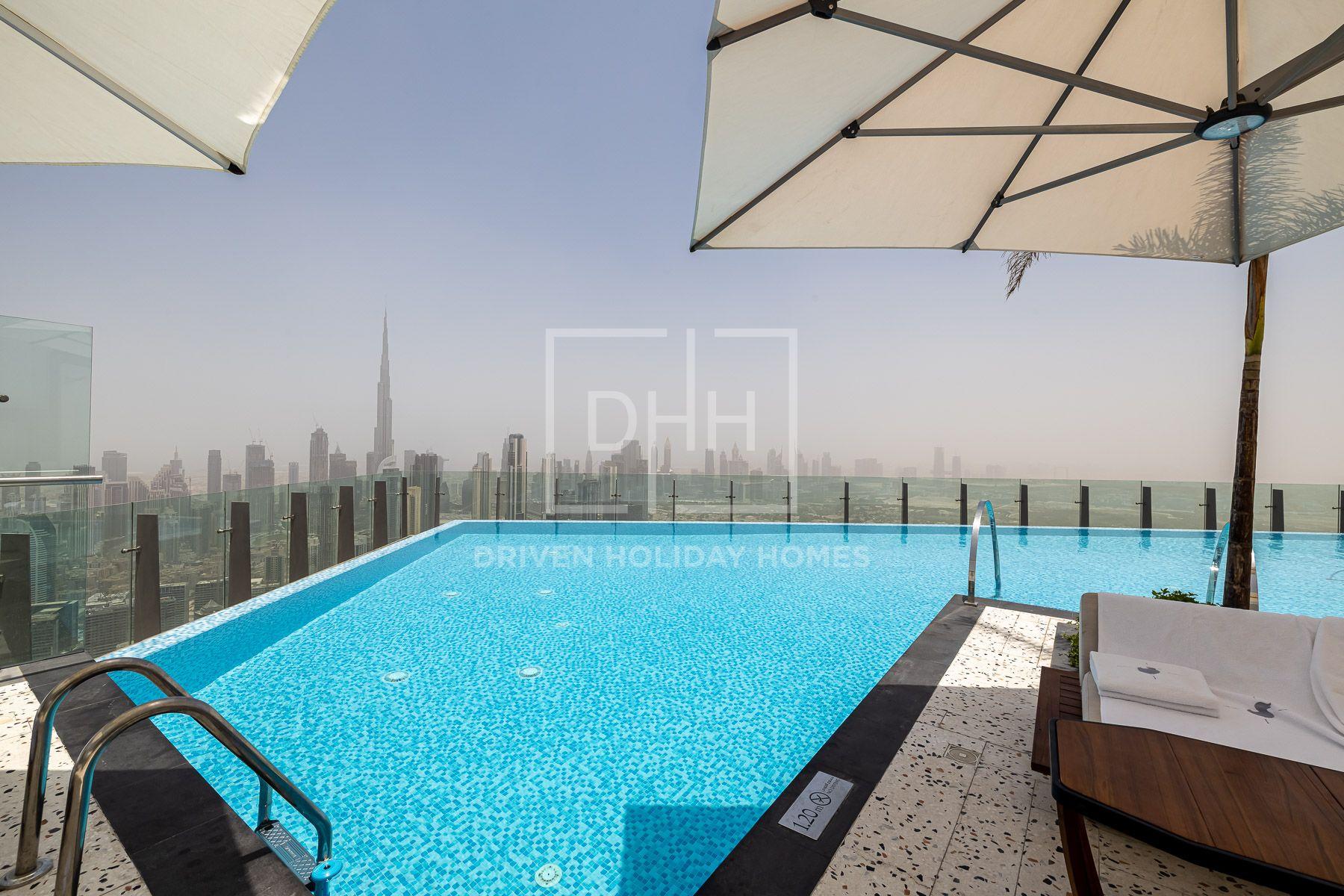 للايجار - ستوديو - SLS Dubai Hotel & Residences - الخليج التجاري
