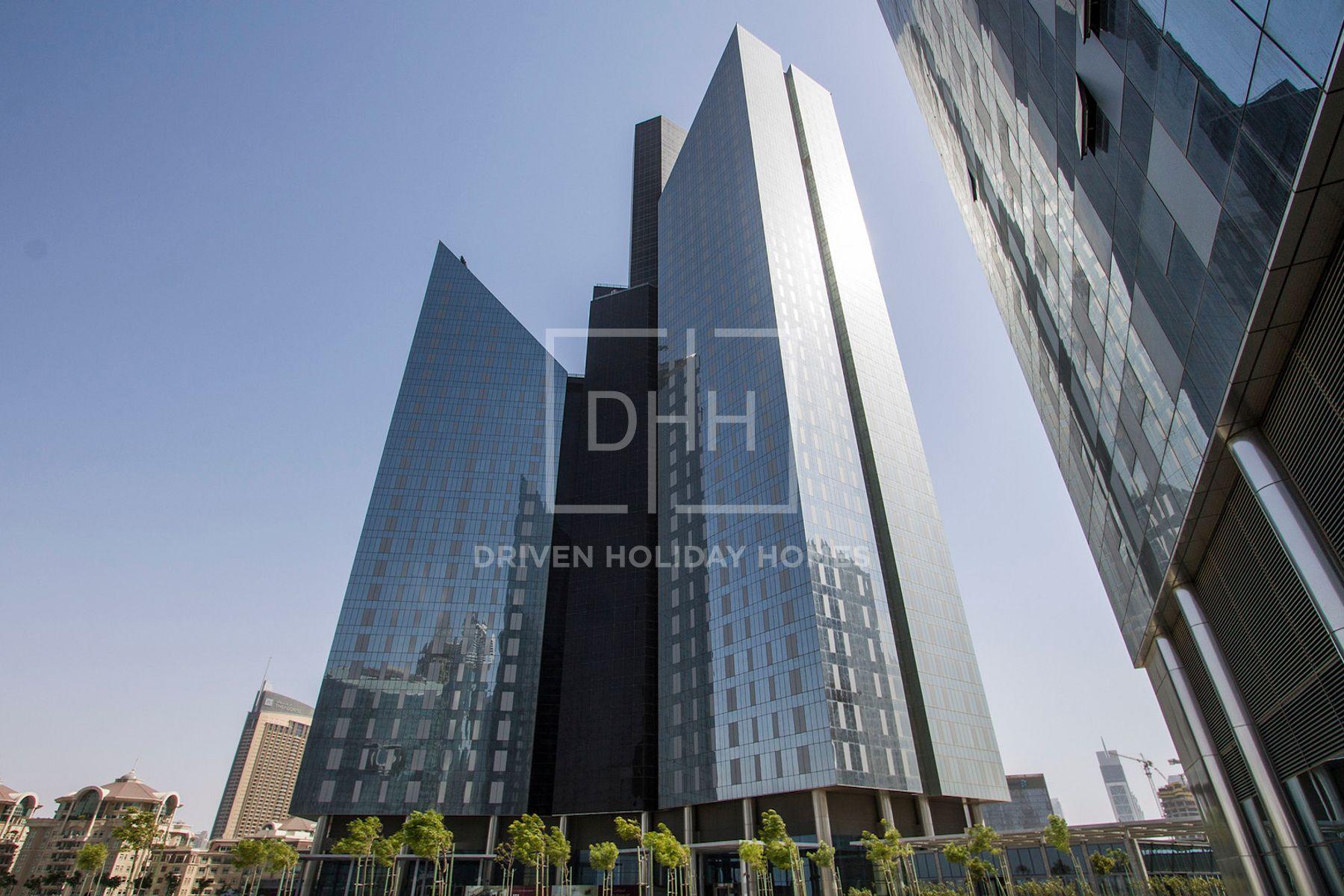 للايجار - ستوديو - برج سنترال بارك السكني - مركز دبي المالي العالمي