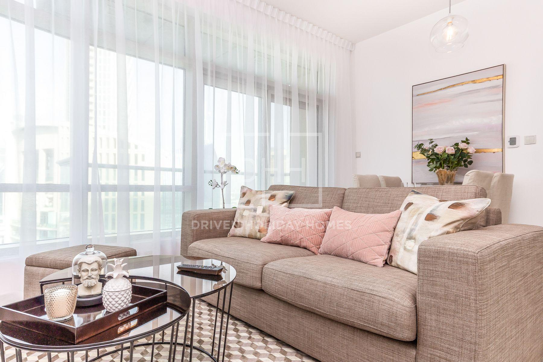 745 قدم مربع  شقة - للايجار - دبي وسط المدينة