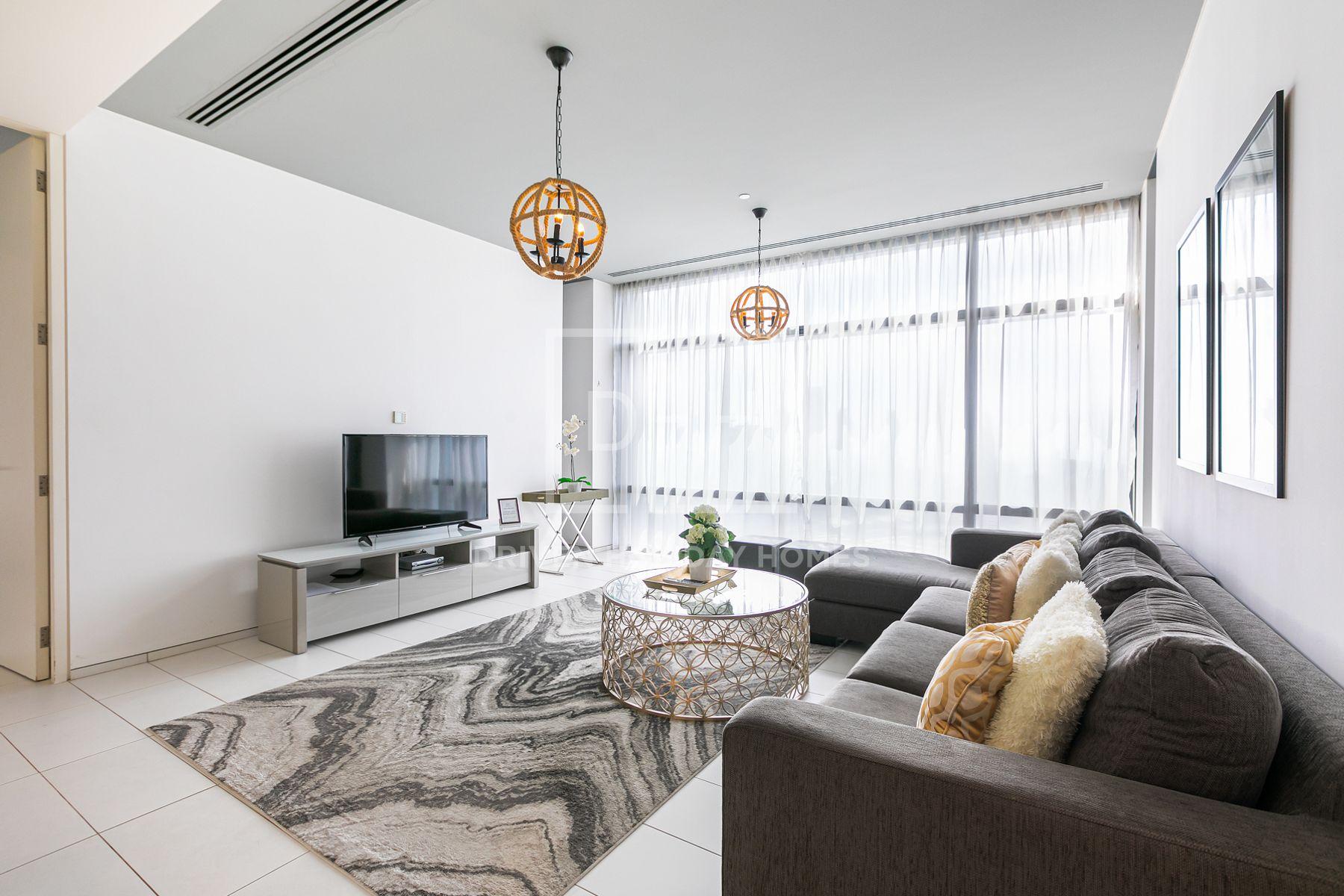 884 قدم مربع  شقة - للايجار - مركز دبي المالي العالمي