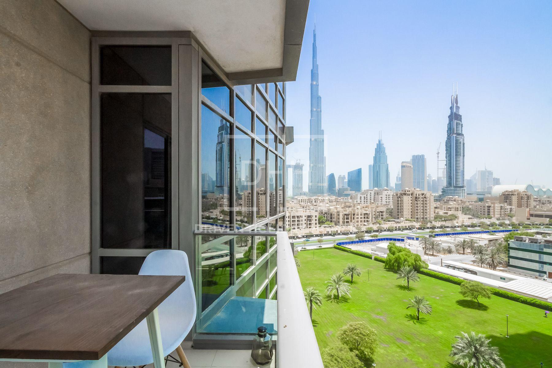 للايجار - شقة - البرج الجنوبي 4 - دبي وسط المدينة