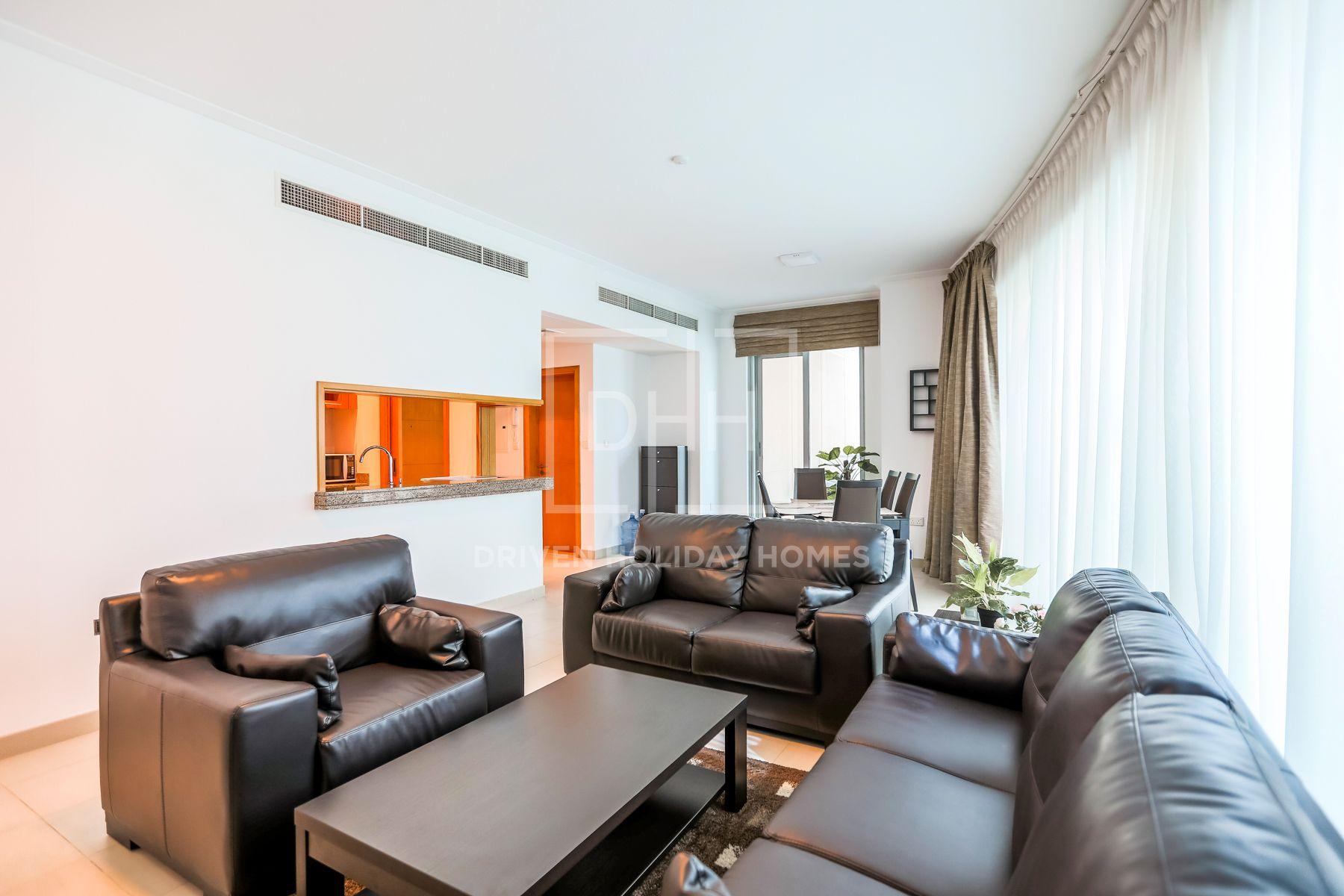 1,002 قدم مربع  شقة - للايجار - دبي مارينا