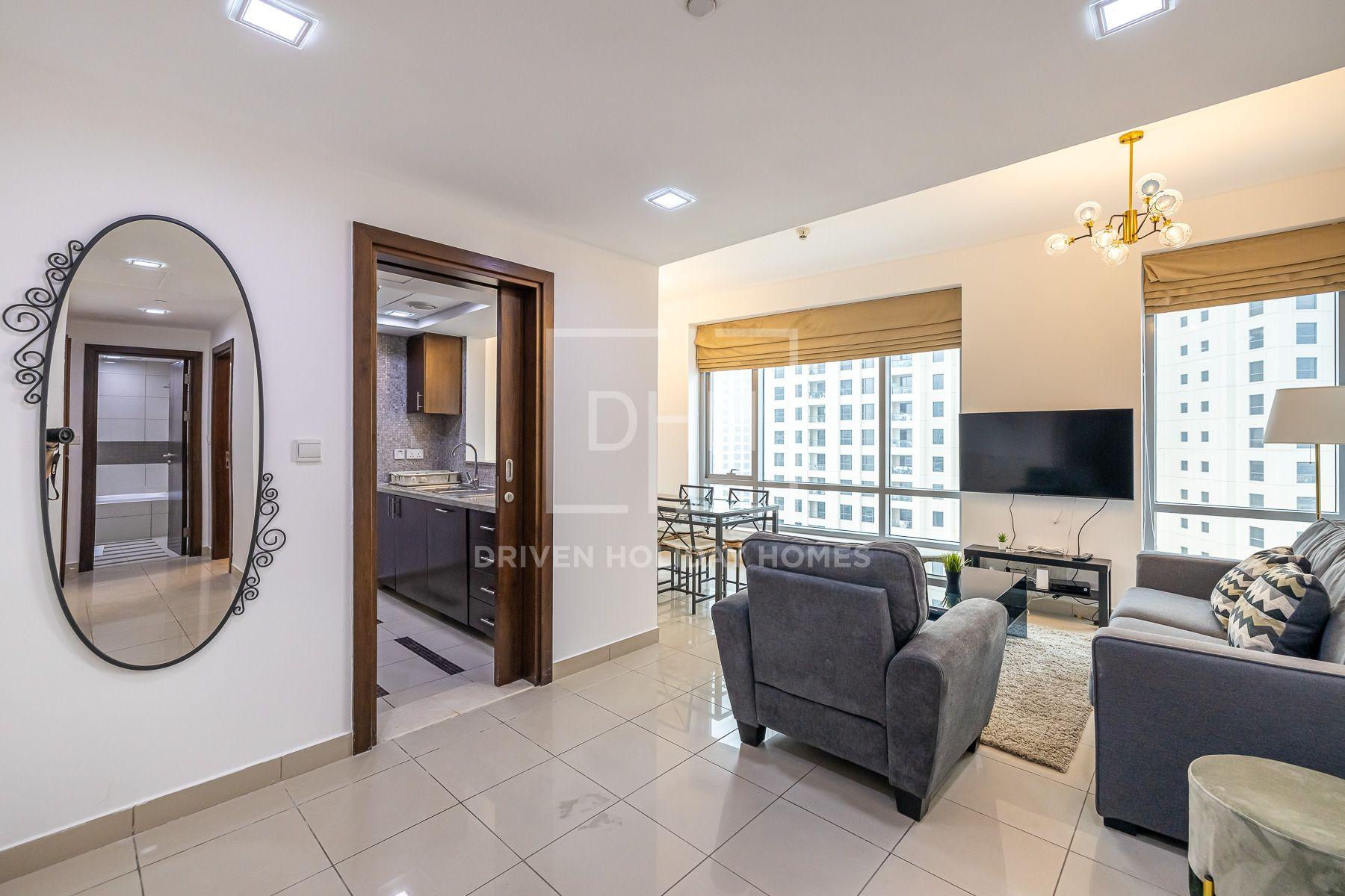 للايجار - شقة - برج سانيبال - دبي مارينا