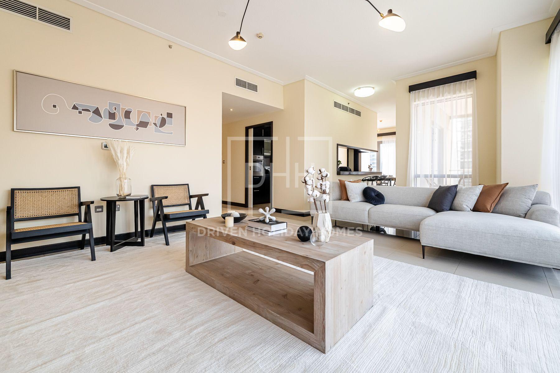 للايجار - شقة - البرج الجنوبي 1 - دبي وسط المدينة