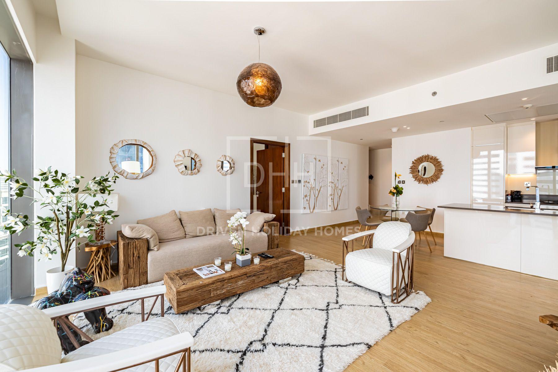 1,396 قدم مربع  شقة - للايجار - دبي مارينا