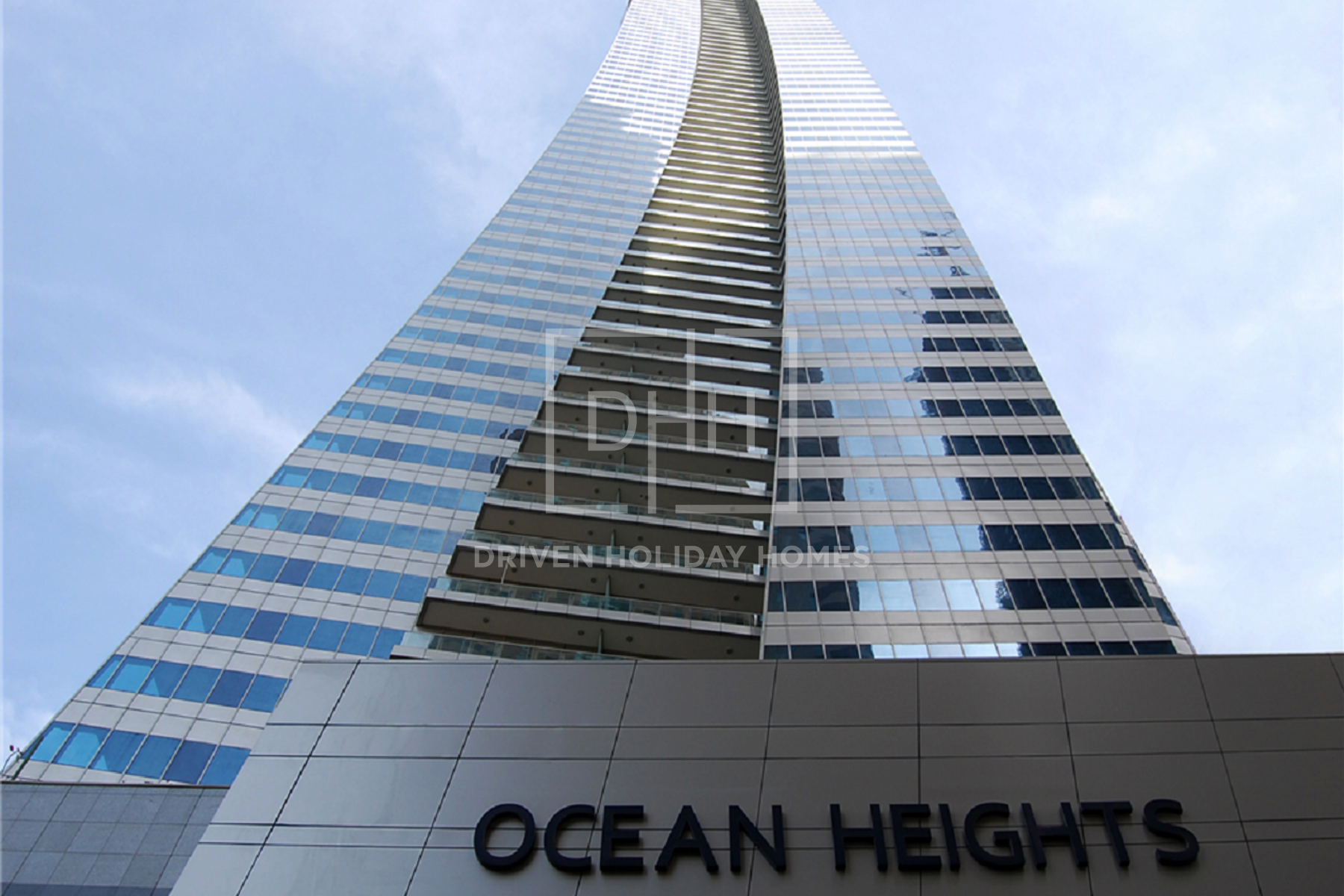 Apartment for Rent in Ocean Heights - Dubai Marina
