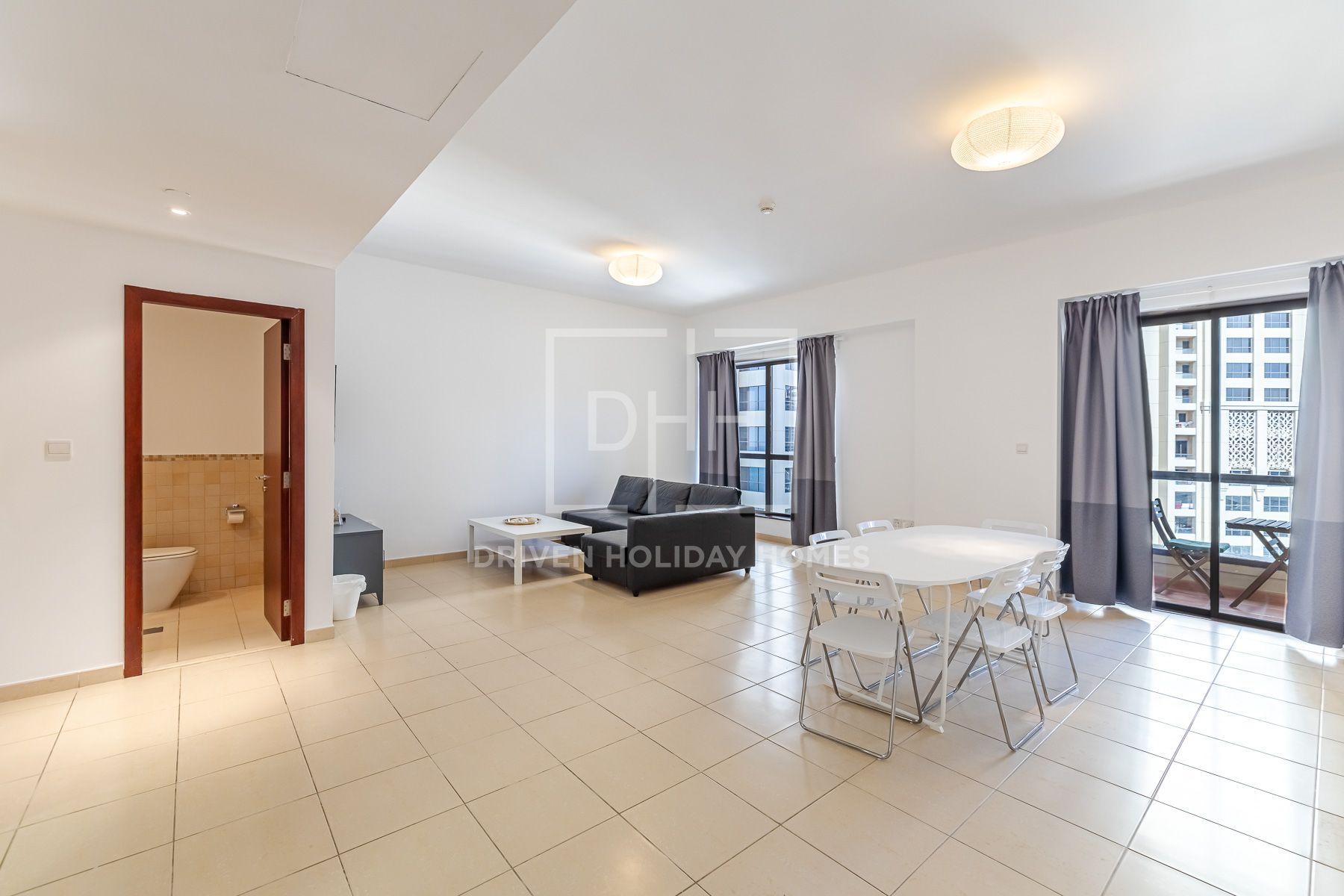 1,391 قدم مربع  شقة - للايجار - مساكن شاطئ الجميرا