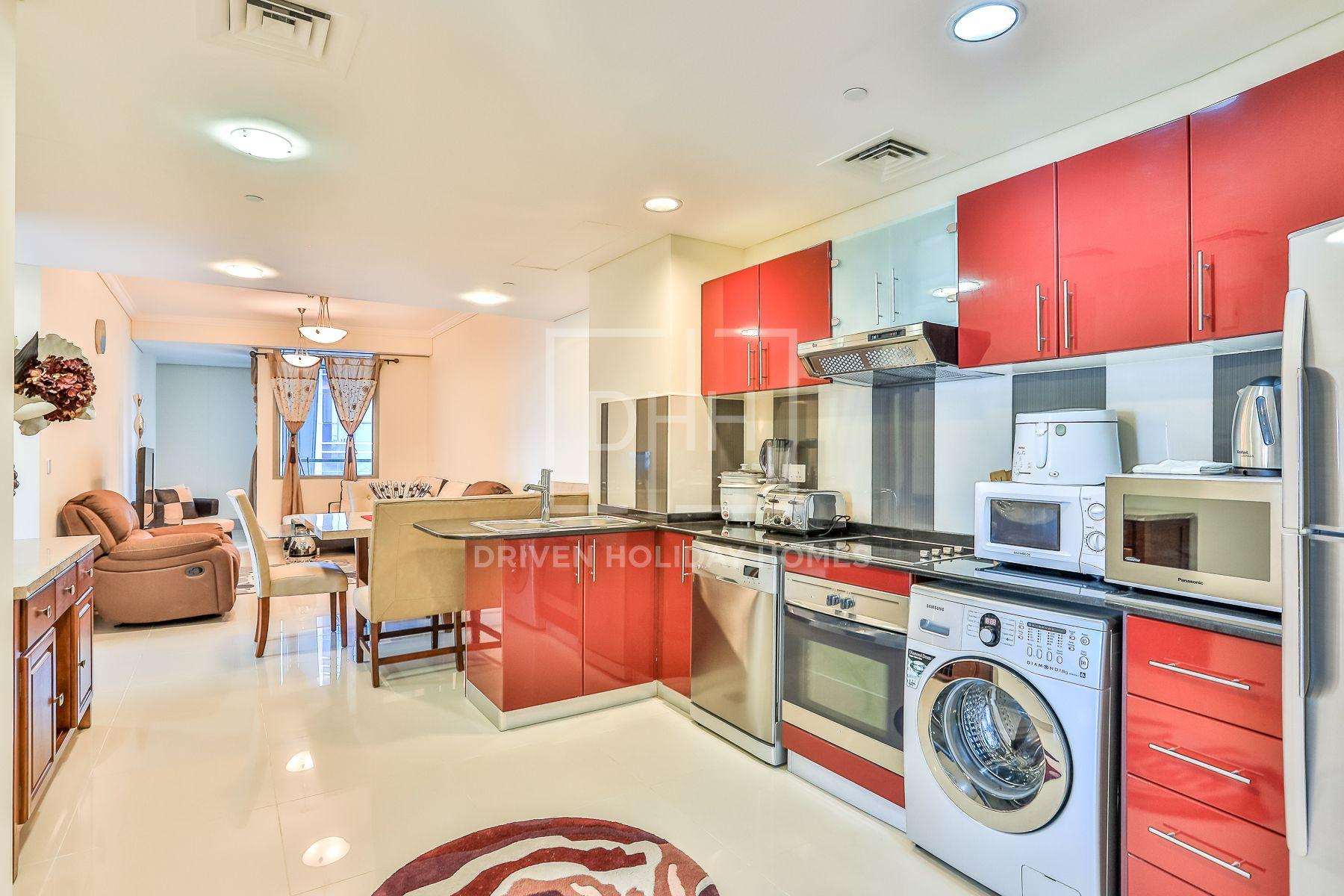 Apartment for Rent in Ocean Heights - Dubai Marina