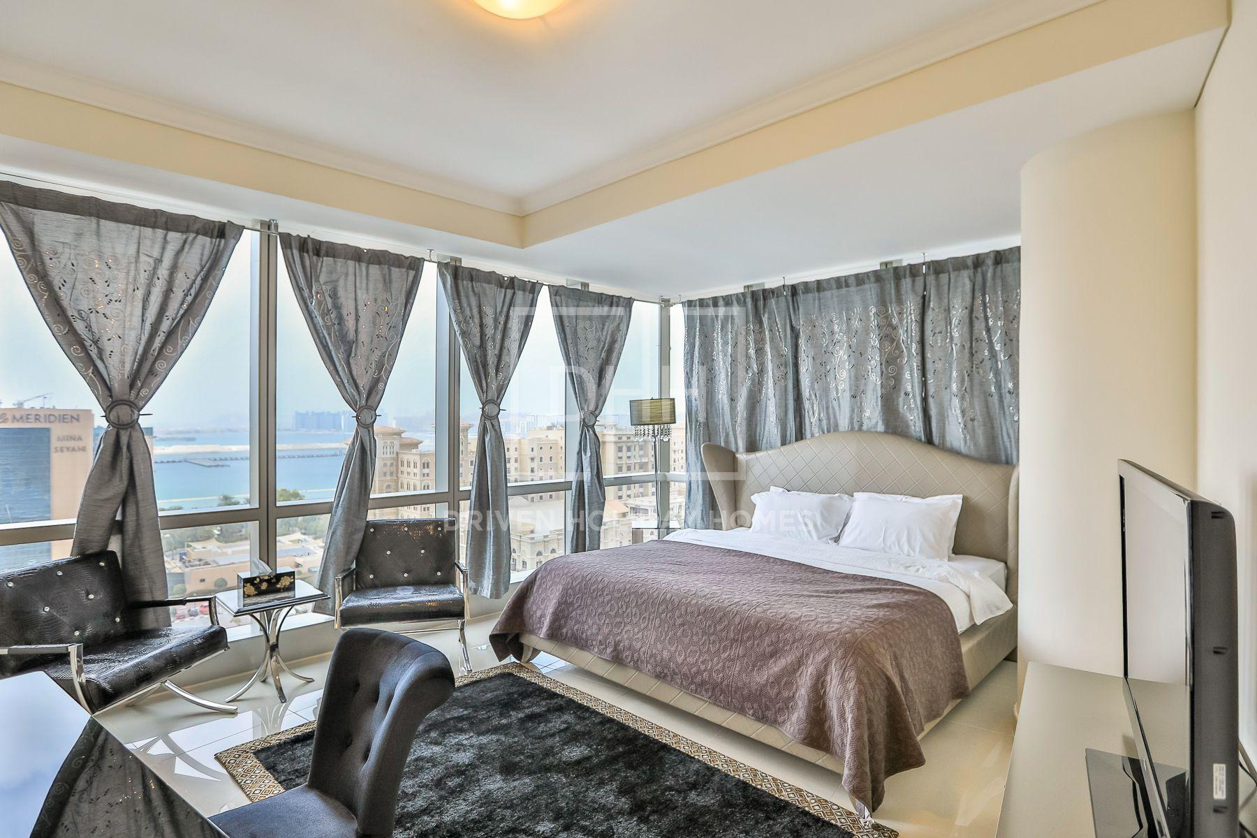 1,582 قدم مربع  شقة - للايجار - دبي مارينا