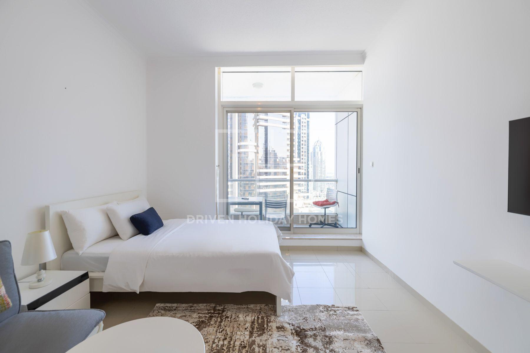 Studio for Rent in Botanica Tower - Dubai Marina