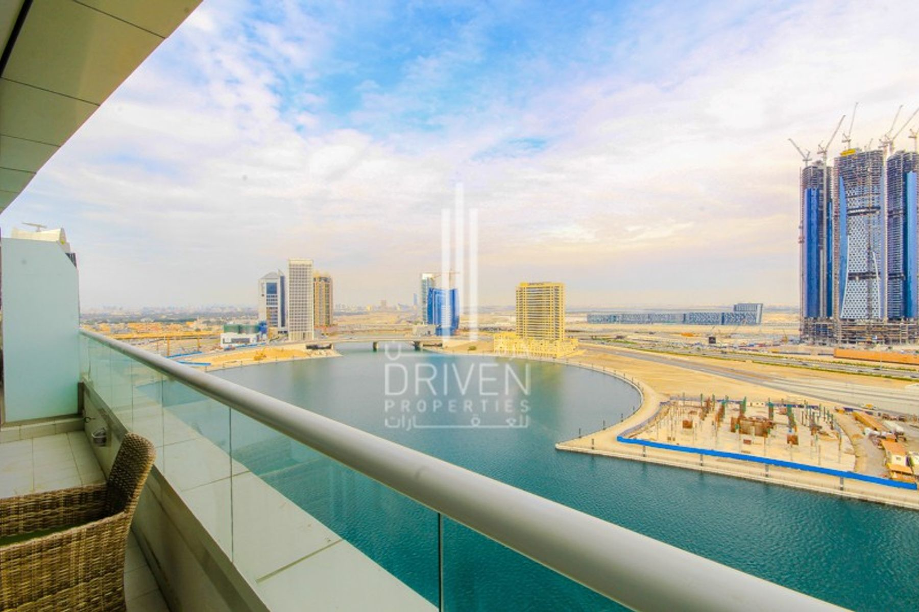Ready to move in Unit with Dubai Canal View