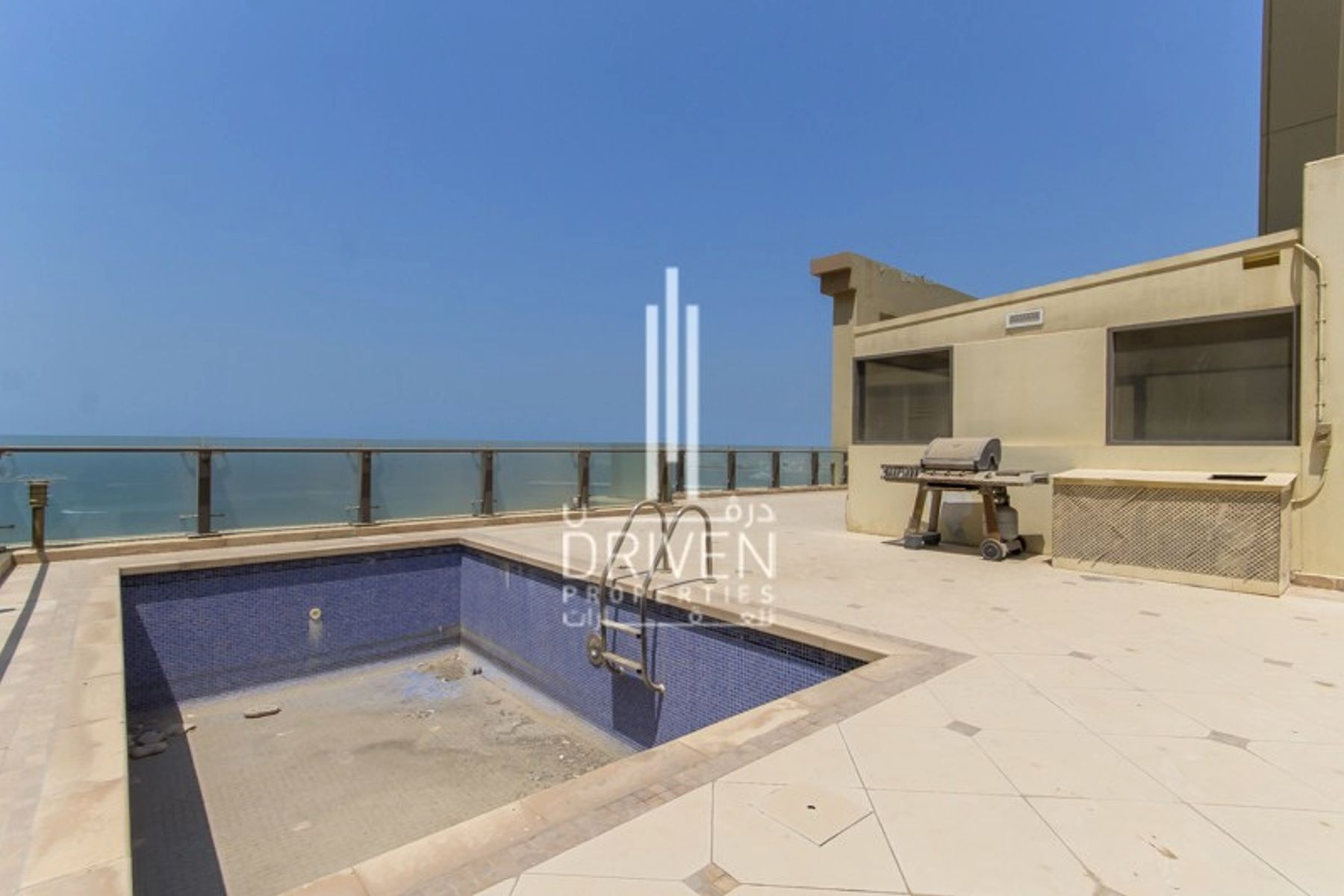 Full Sea Marina View |Penthouse Pool in JBR