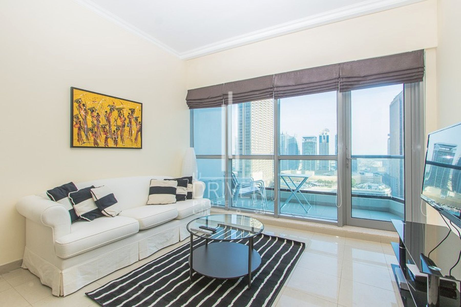 Furnished 1 Bedroom Apt with Marina View