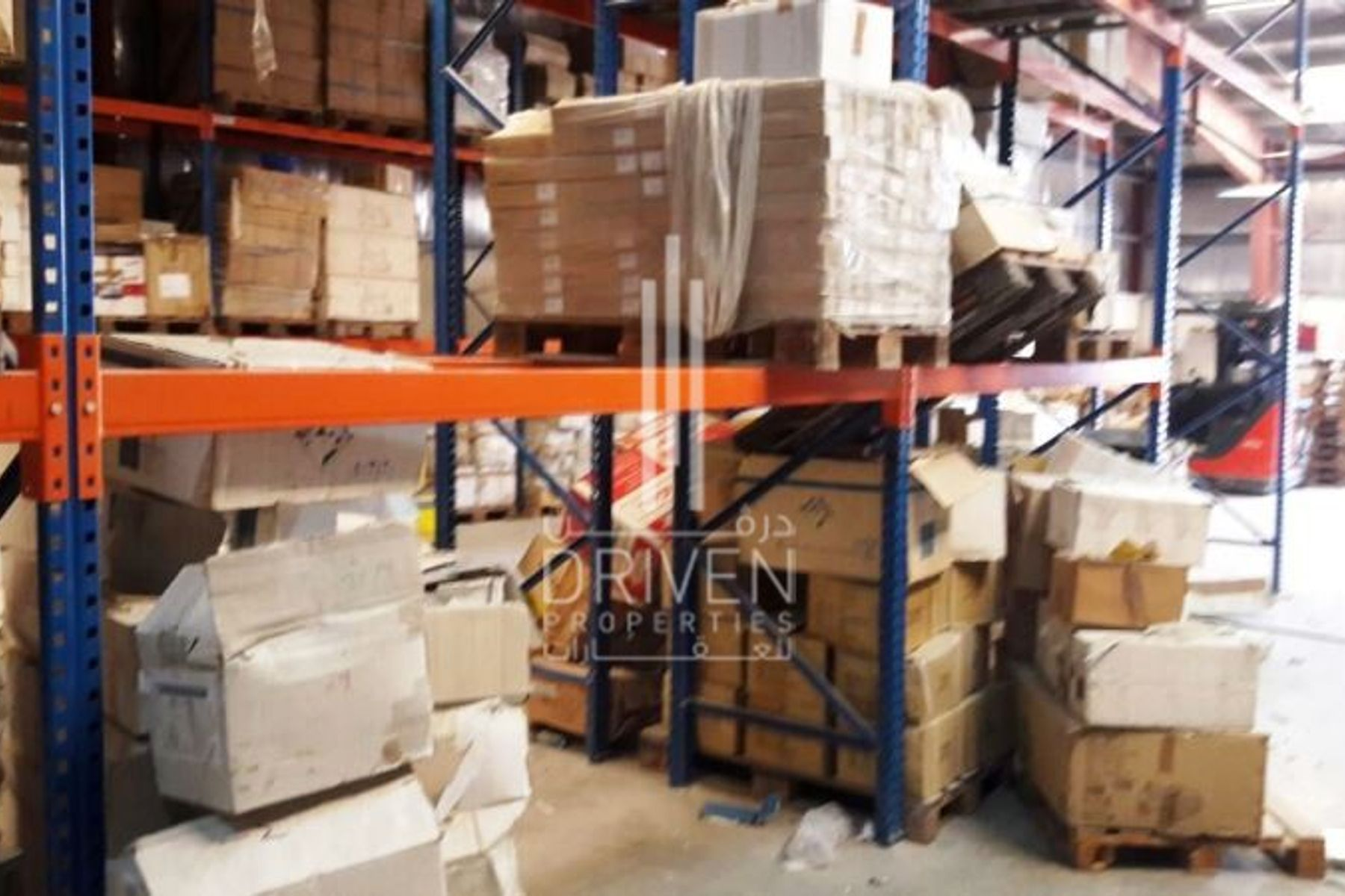 Furnished Warehouse for Storage Purposes