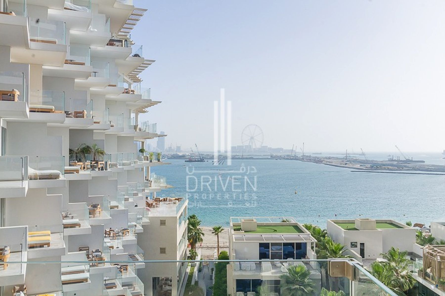 Full Sea and Dubai Eye Views | 2 BR Apt.