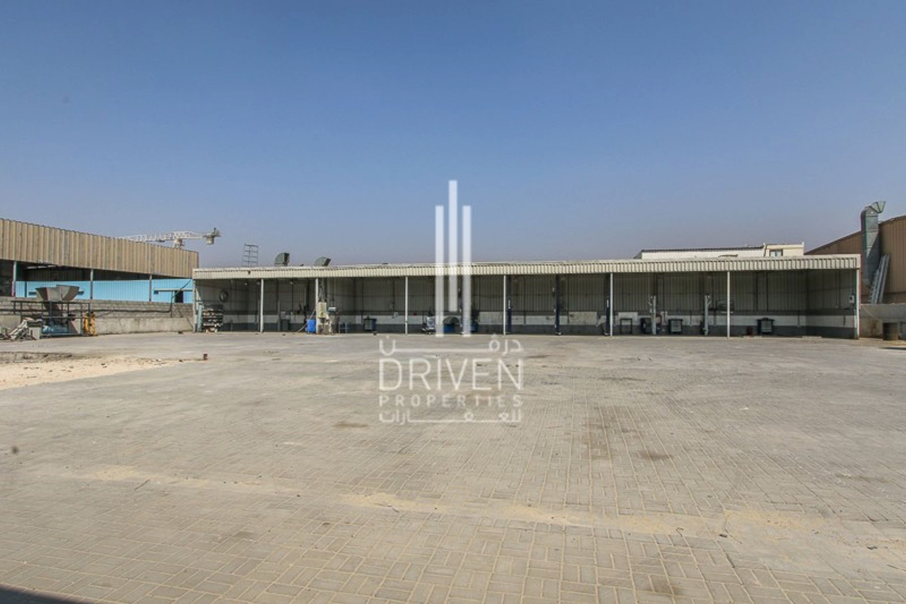 Open Yard and Shed for storage and commercial  Purpose, Al Quoz  3