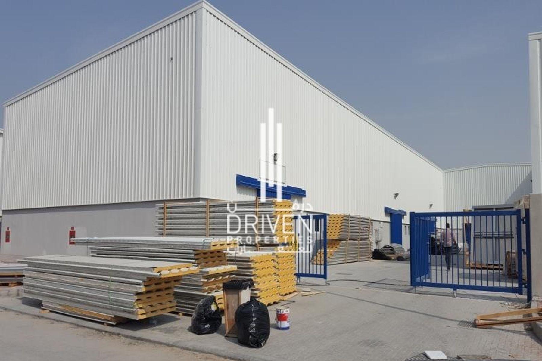 Warehouse with Mezzanine floor Al Quoz