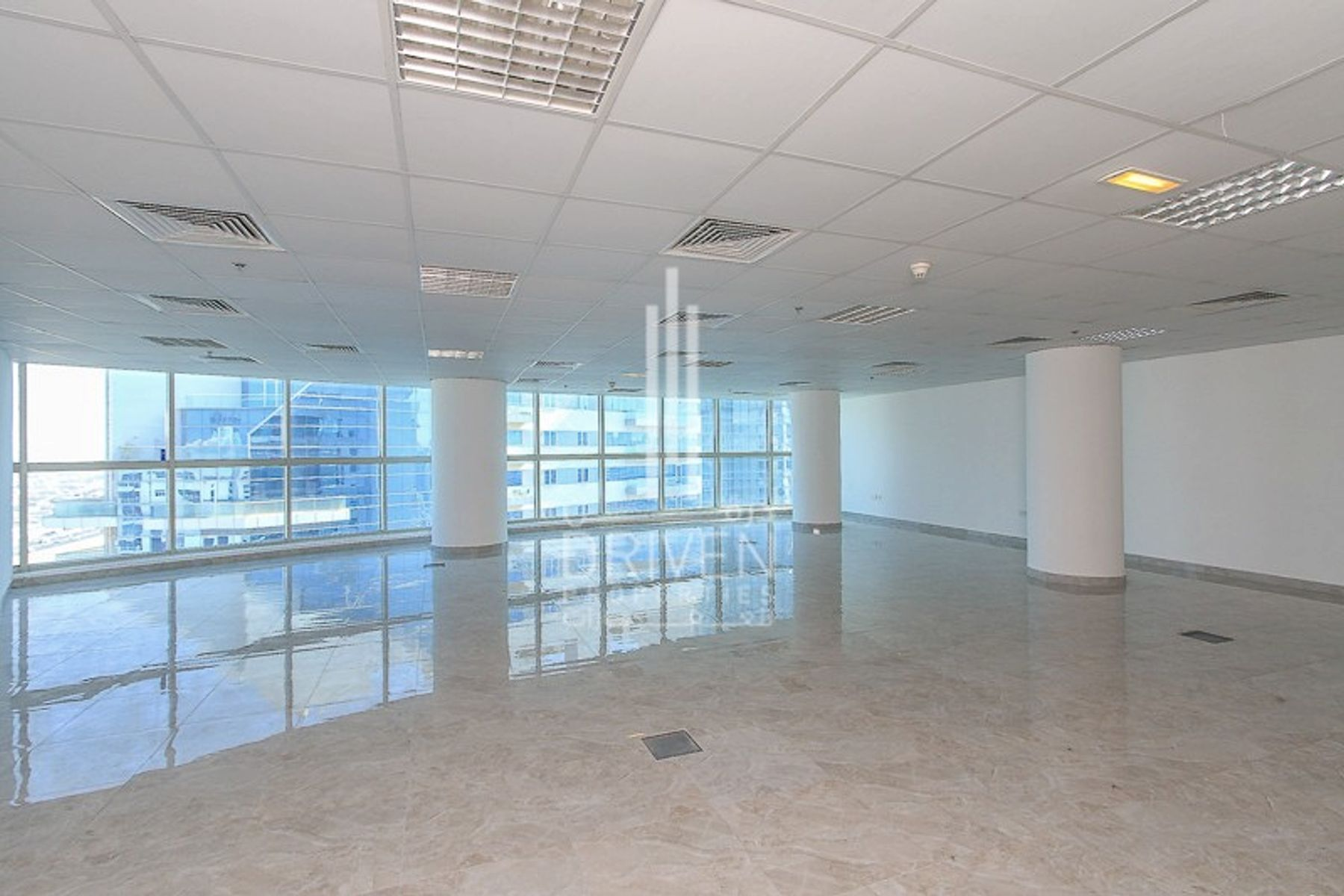 High Floor Fitted Office Space For Sale.