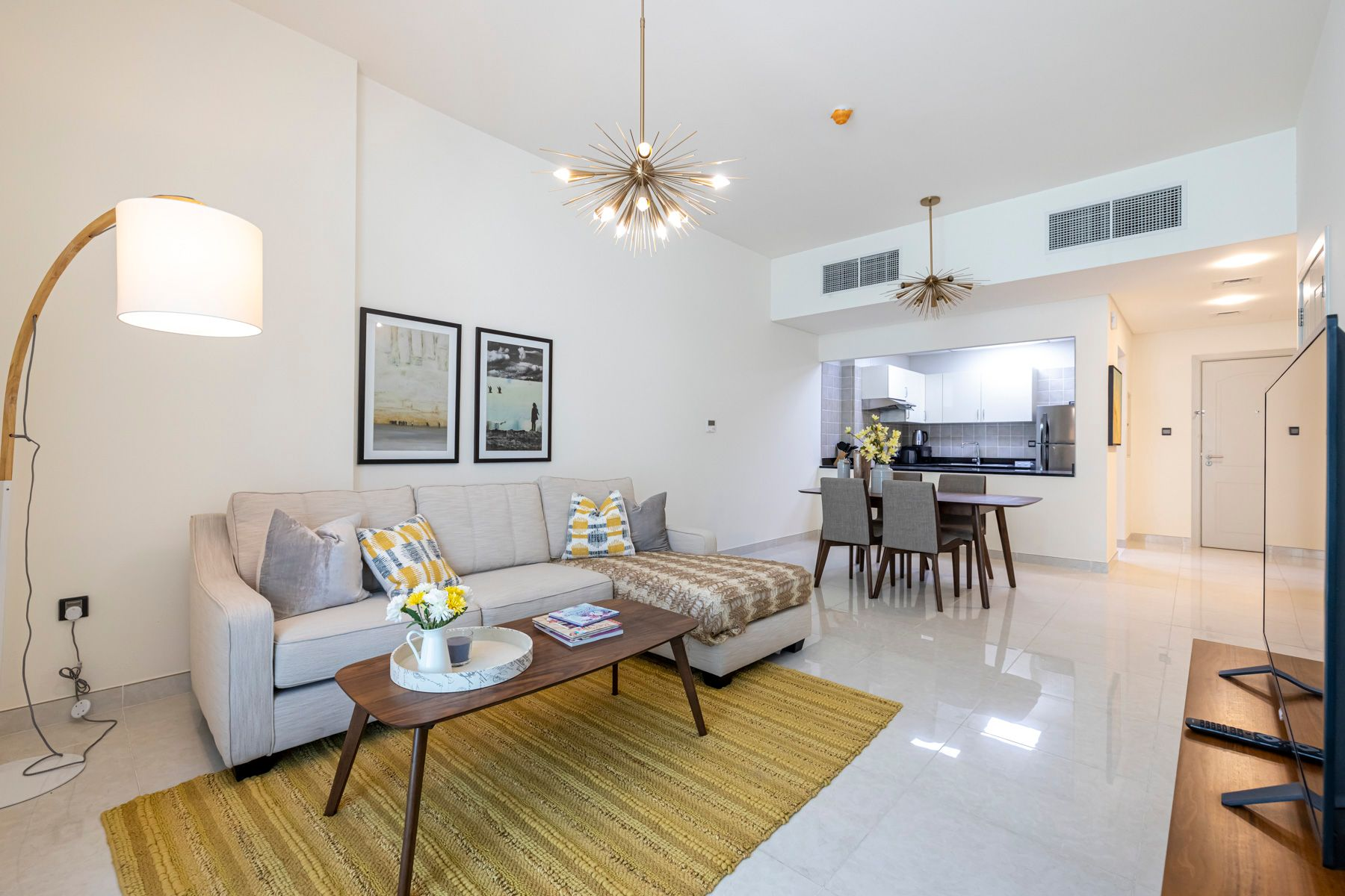 Bright and Furnished 1Bed | 1 Month Free