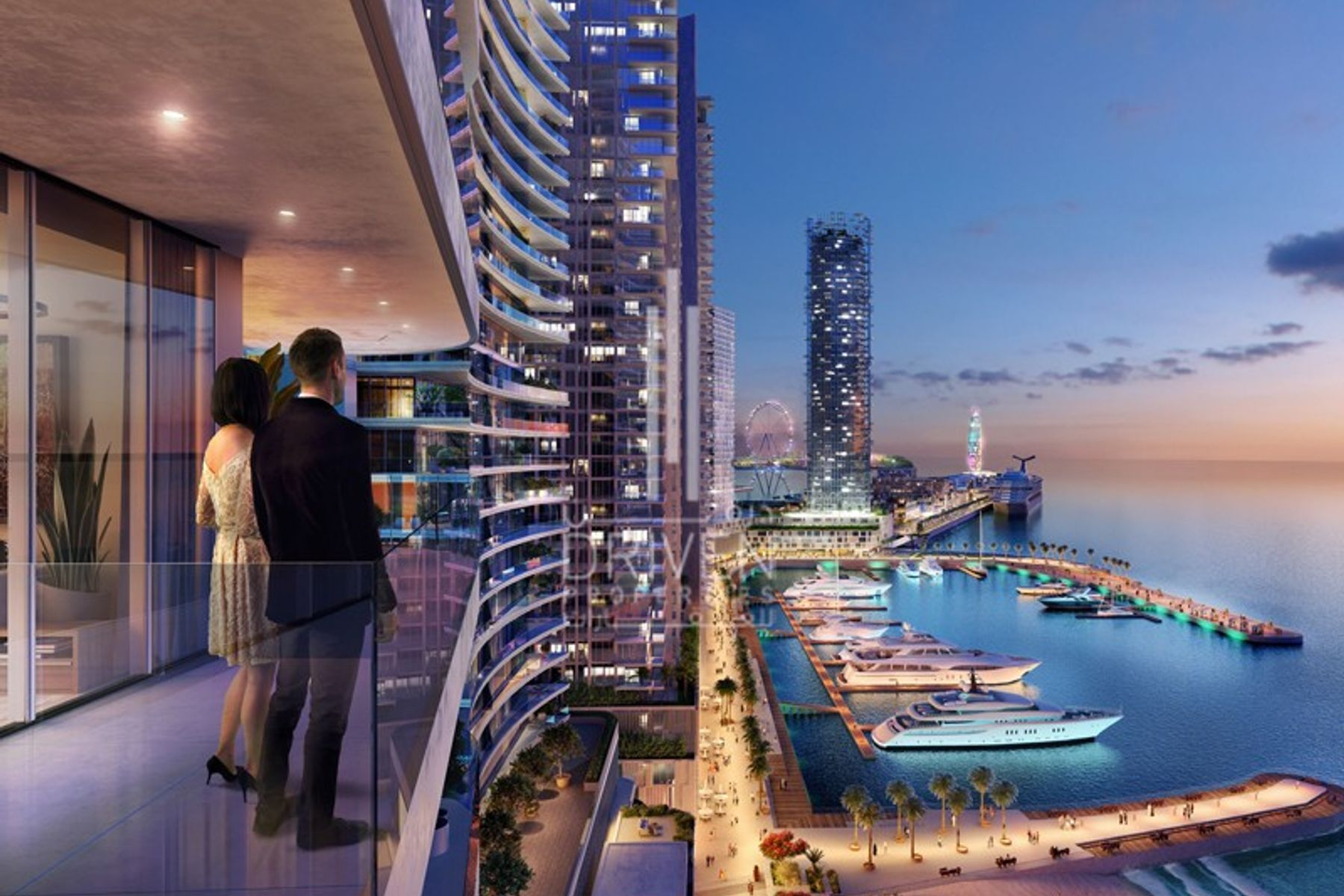 Apartment for Sale in Beach Vista - Dubai Harbour