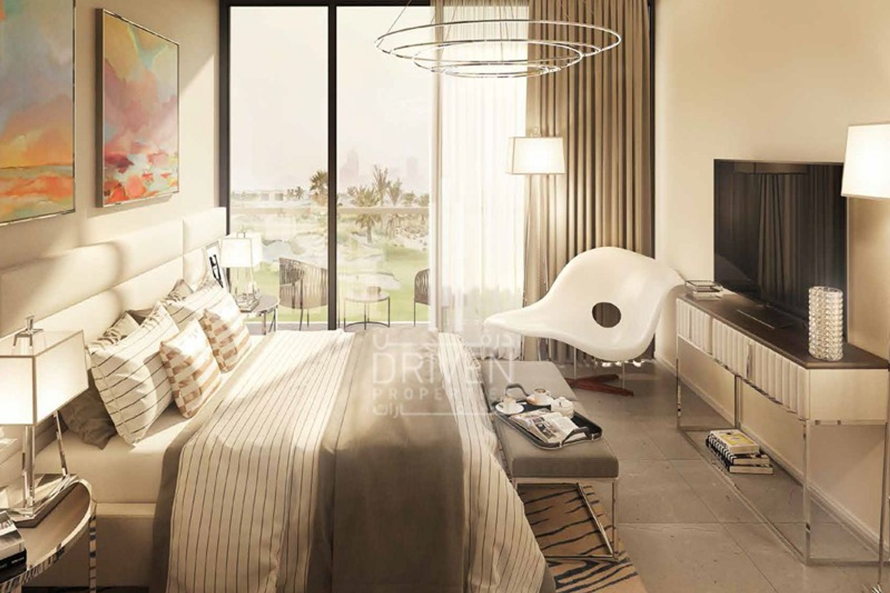 Apartment for Sale in Golf Vita A - DAMAC Hills (Akoya by DAMAC)