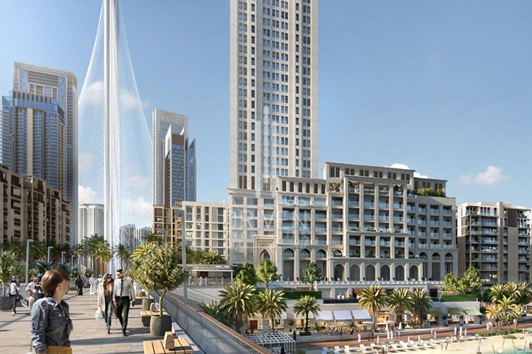 Apartment for Sale in Surf - Dubai Creek Harbour