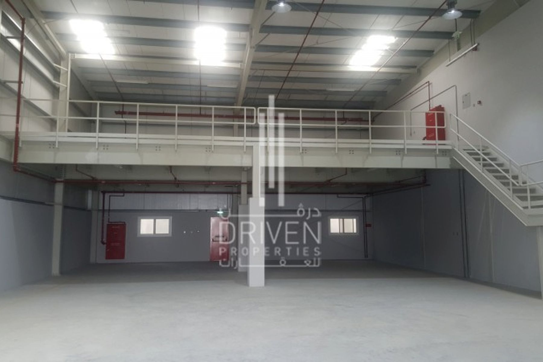 Ground + Mezzanine Warehouse in Al Quoz.