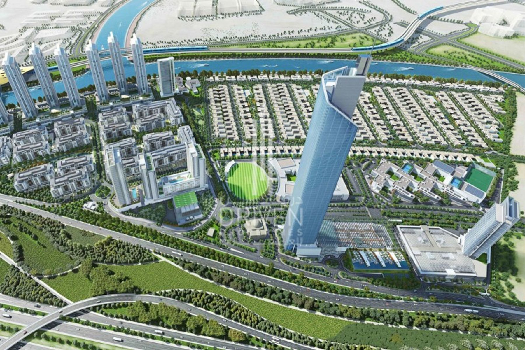 Land Residential for Sale in Hartland Greens - Mohammed Bin Rashid City