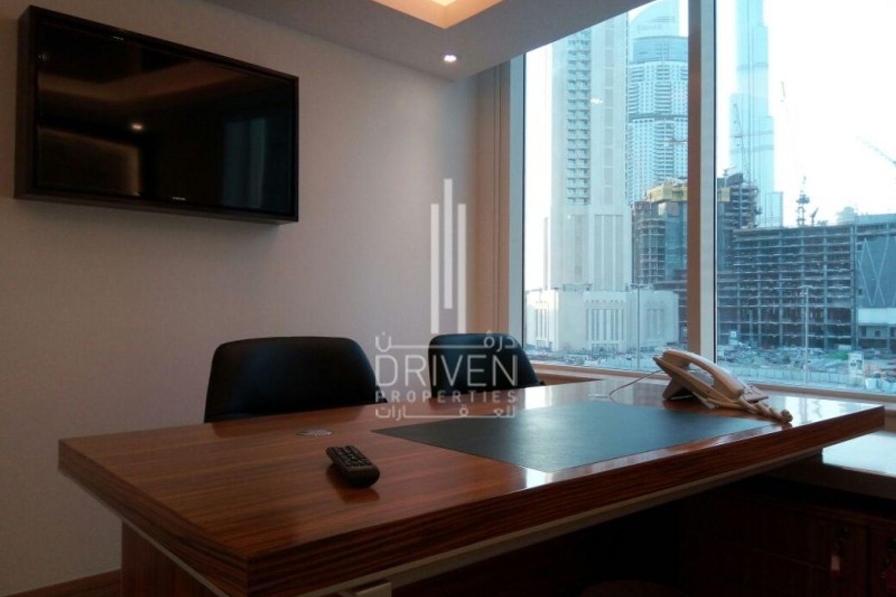Best Furnished Office I Burj Khalifa View