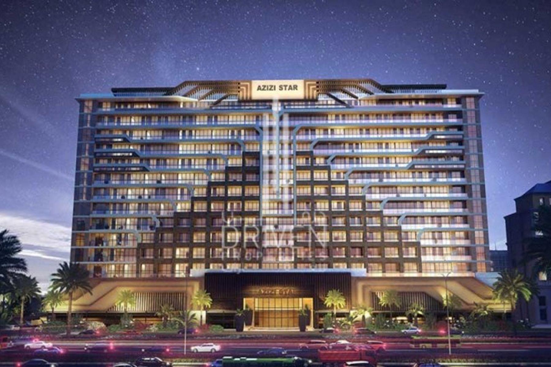 Hotel apartment for Sale in Azizi Star - Al Furjan