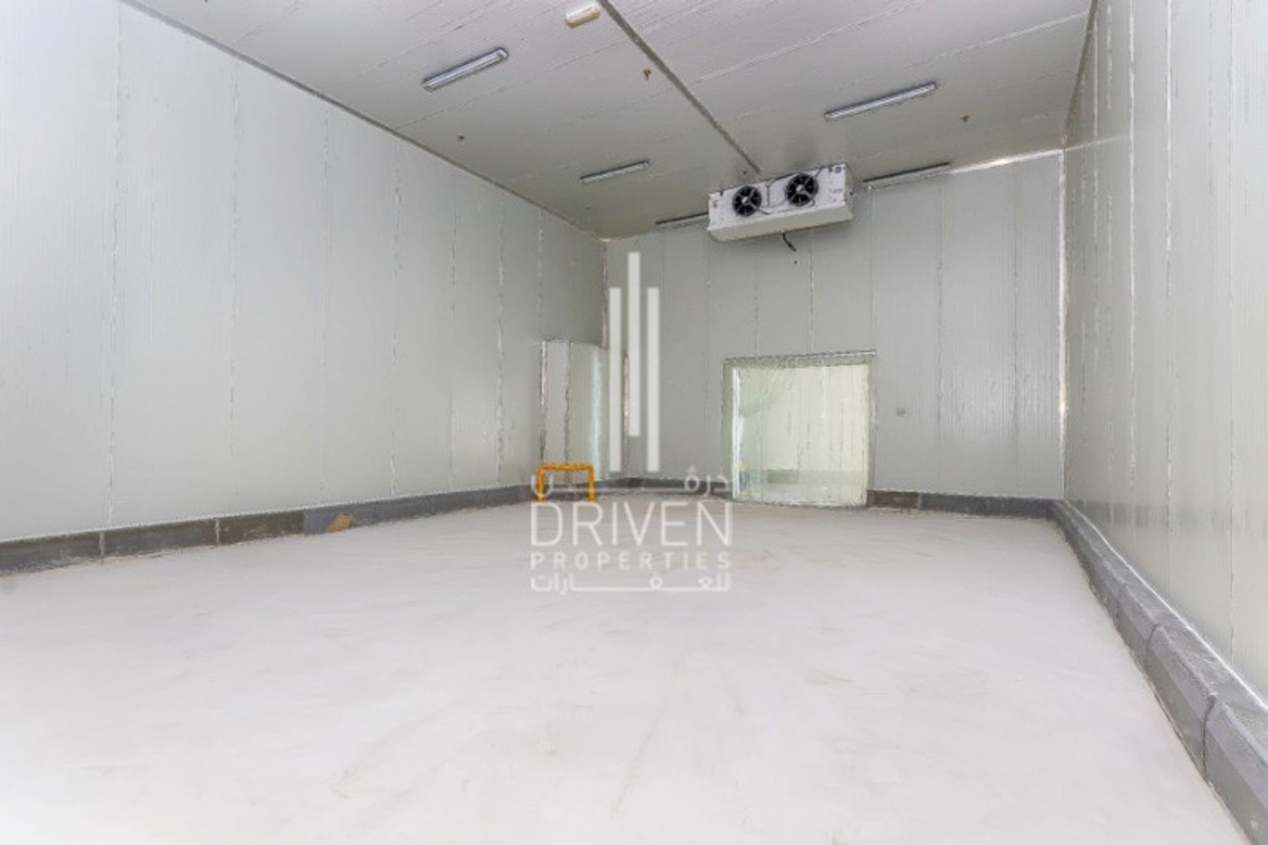 Cold storage warehouse in DIP Ready