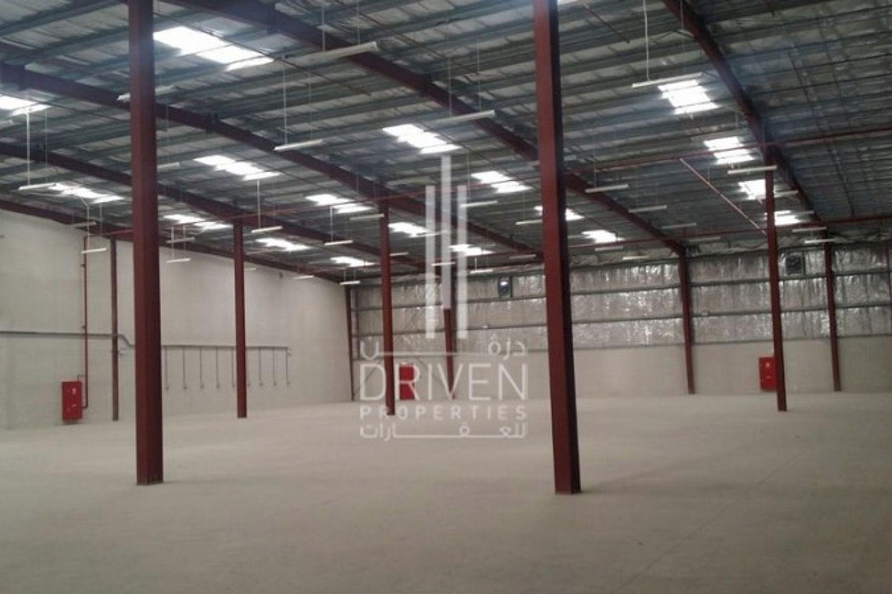 Massive Warehouse For Rent in Umm Ramool