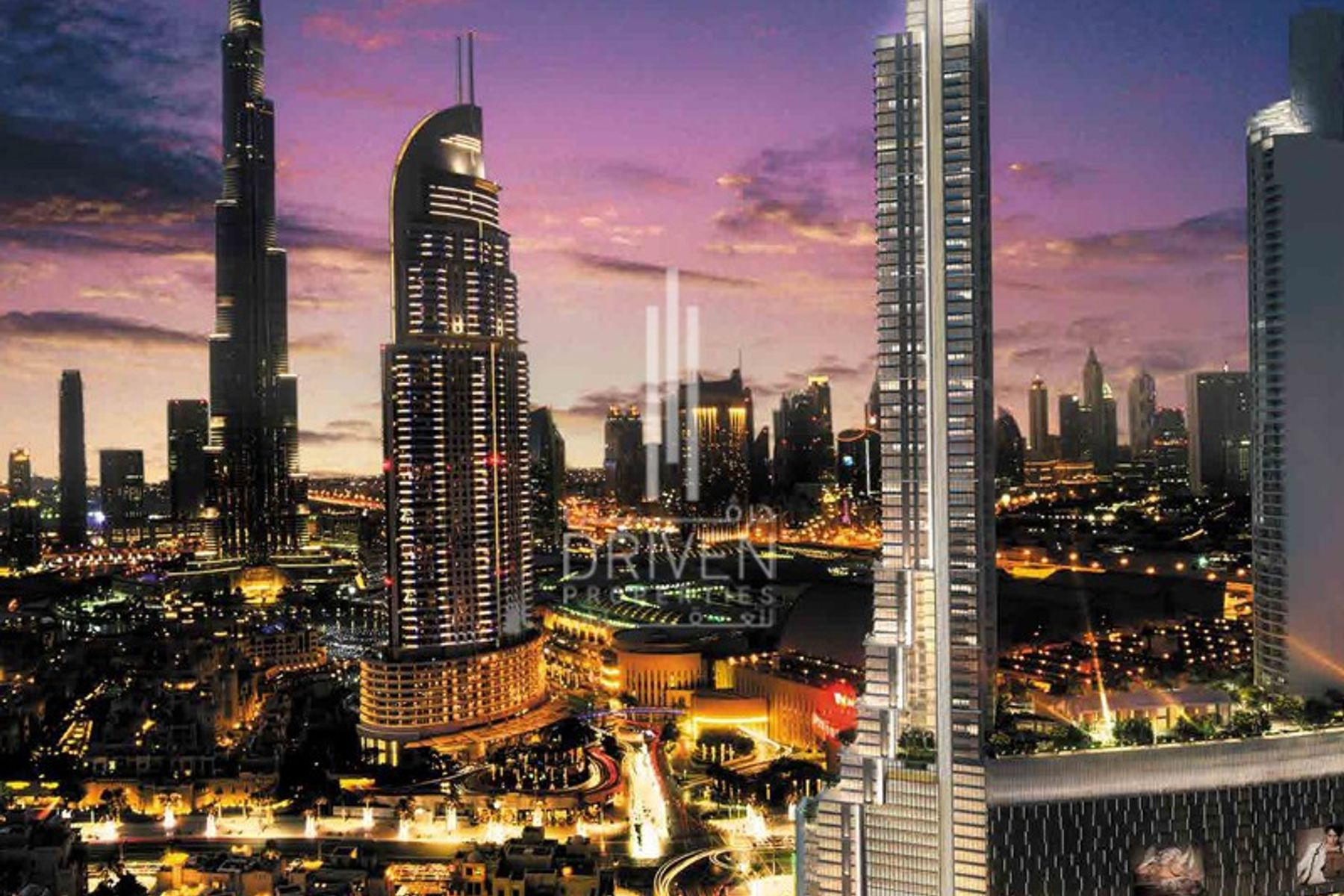 Apartment for Sale in Boulevard Point - Downtown Dubai