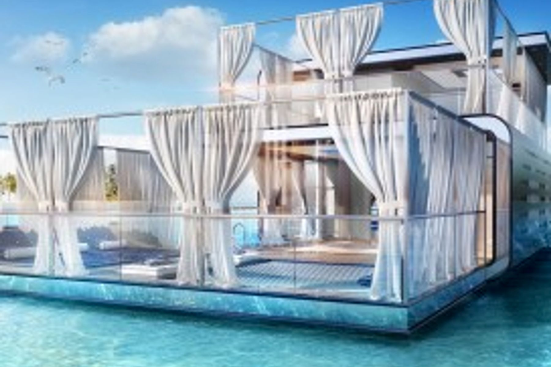 Villa for Sale in The Floating Seahorse - The World Islands