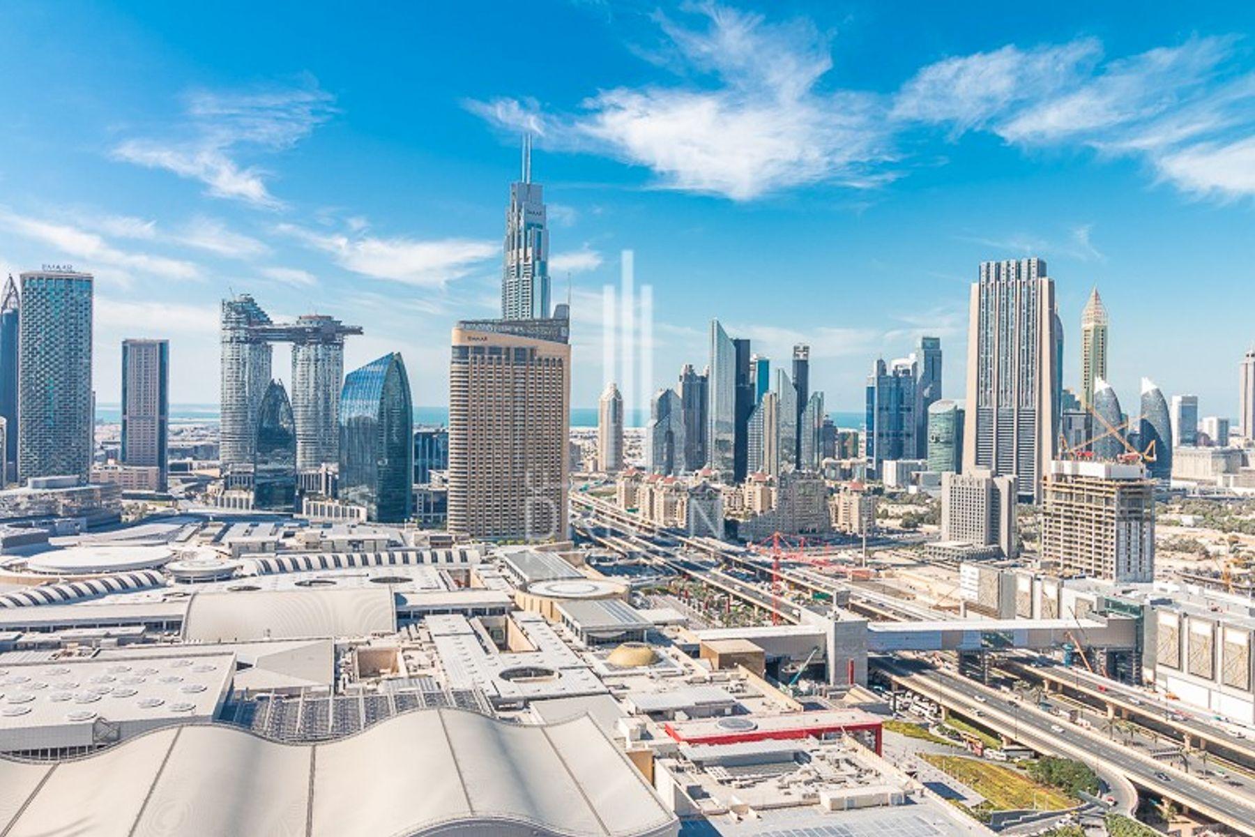 للبيع - شقة - العنوان رزيدنس فاونتن فيوز 1 - دبي وسط المدينة