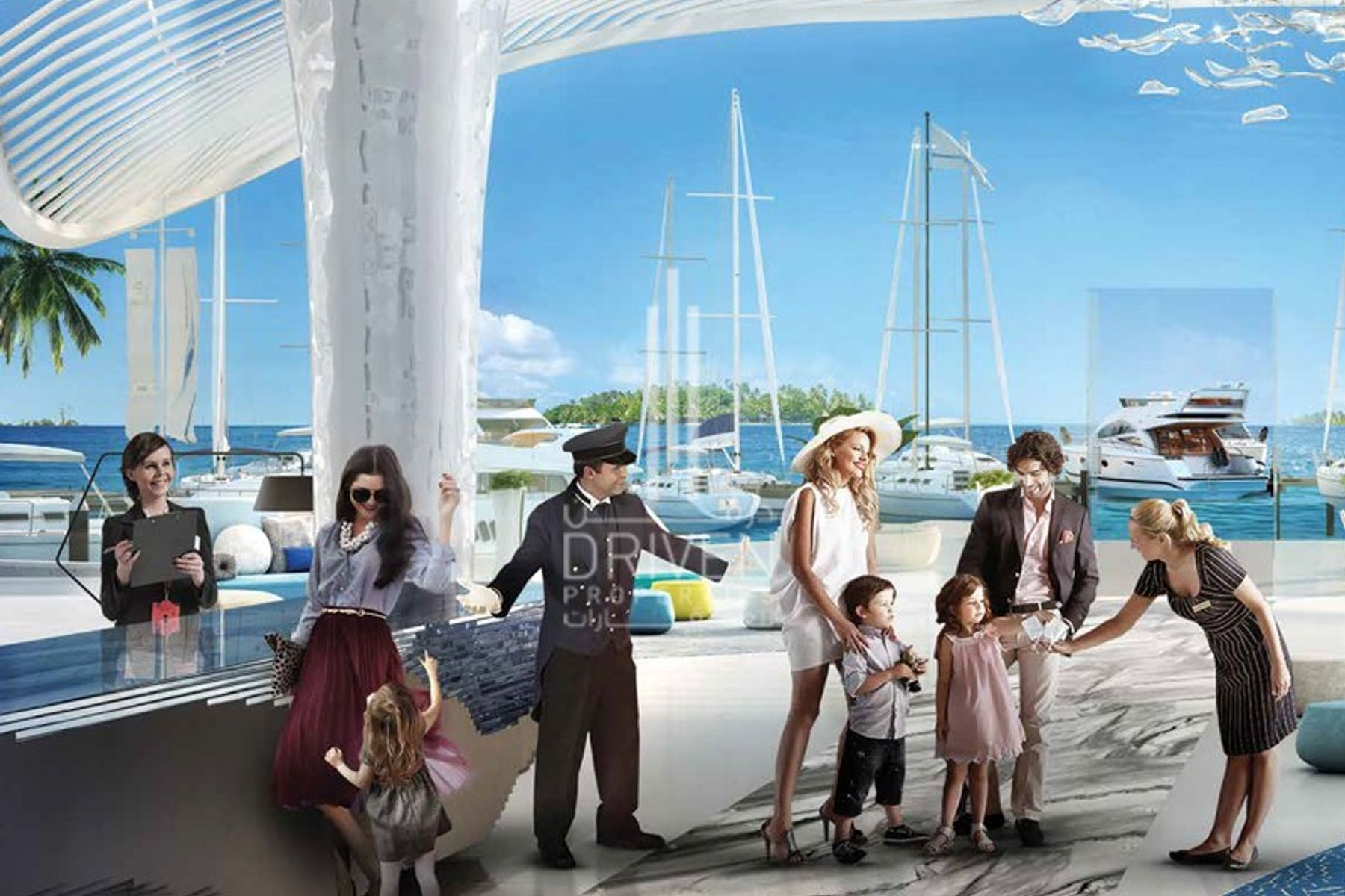 Hotel apartment for Sale in Portofino Hotel - The World Islands