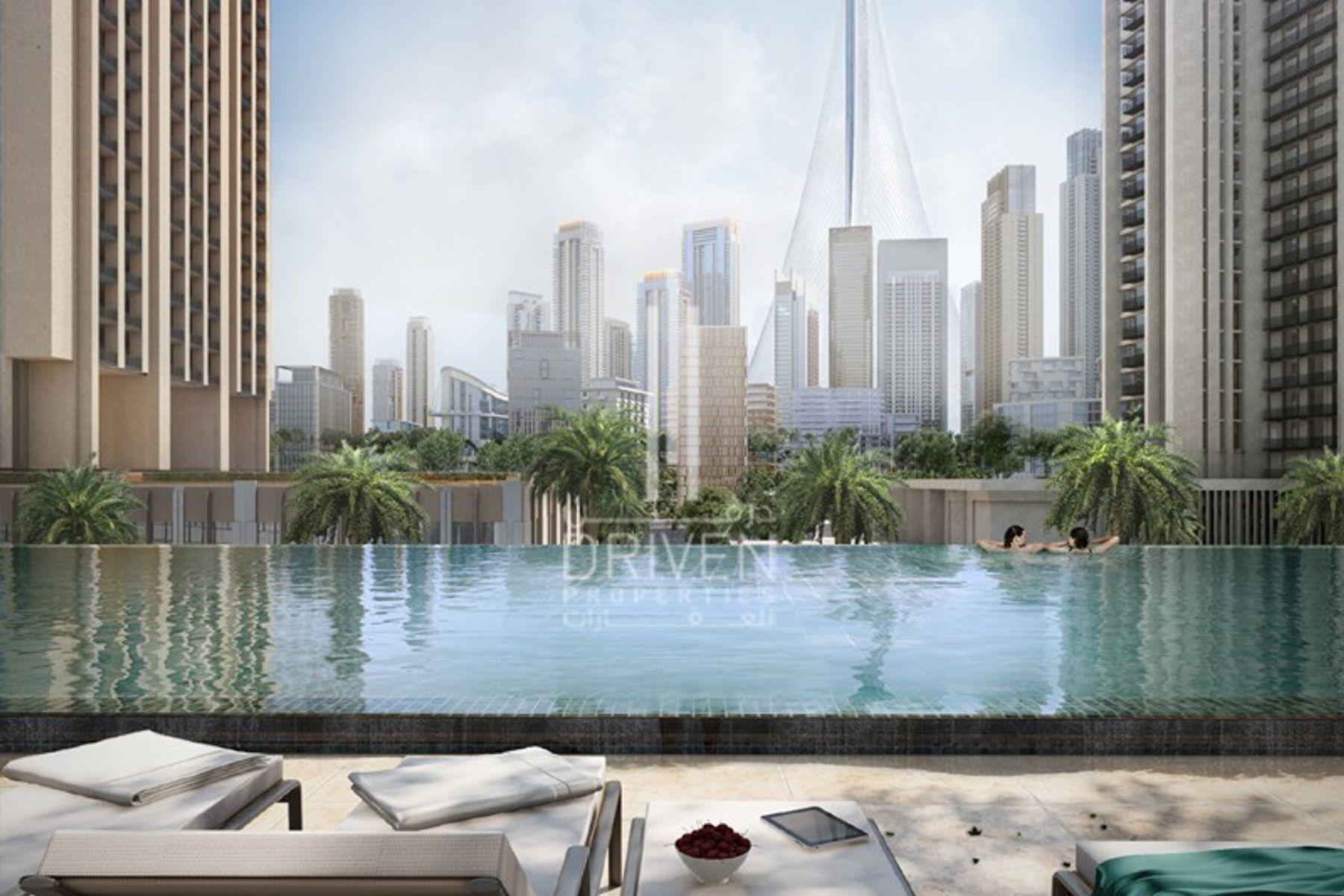 Apartment for Sale in 17 Icon Bay, Dubai Creek Harbour