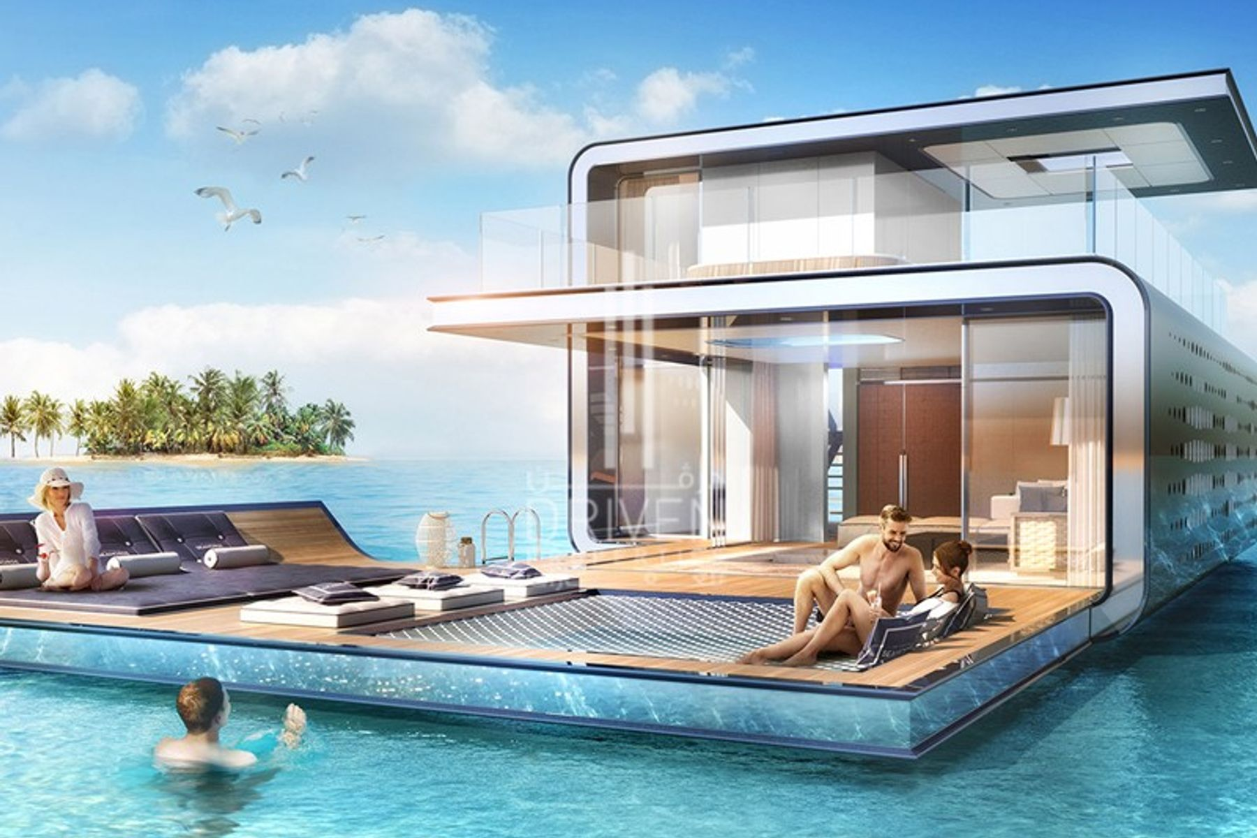 Villa for Sale in The Floating Seahorse, The World Islands