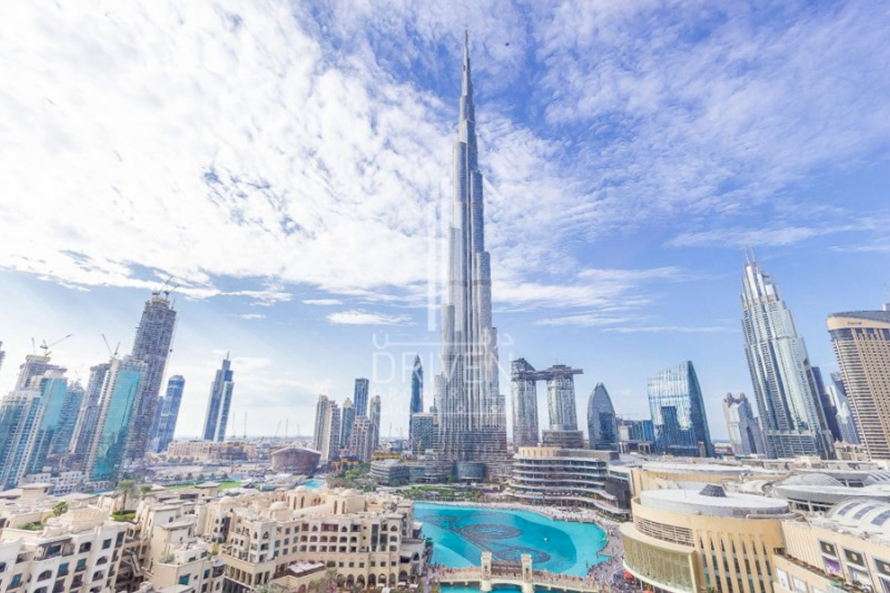 Furnished 1 Bed | Full Burj Khalifa View