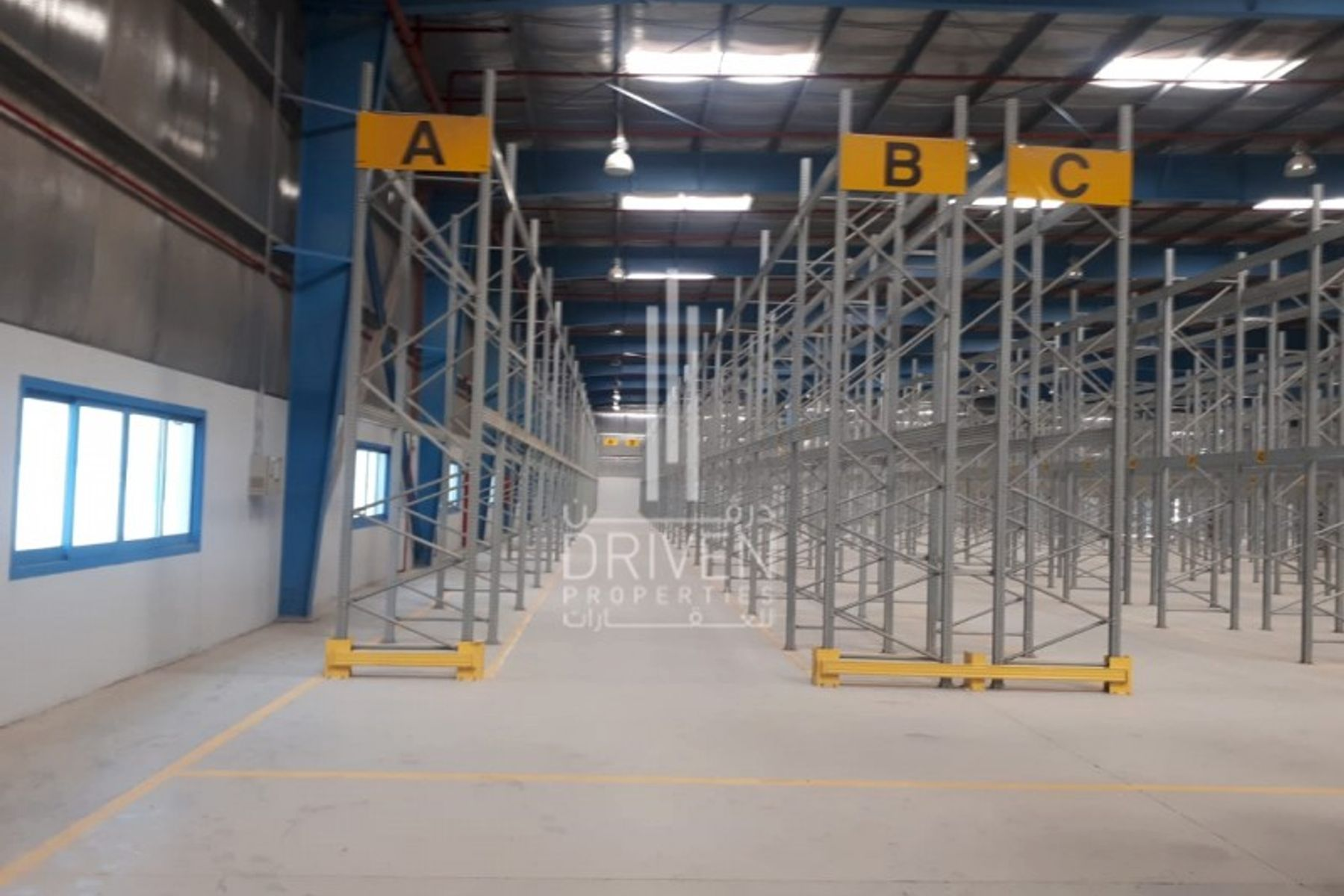 For Rent Furnished Big Warehouse in JAFZA