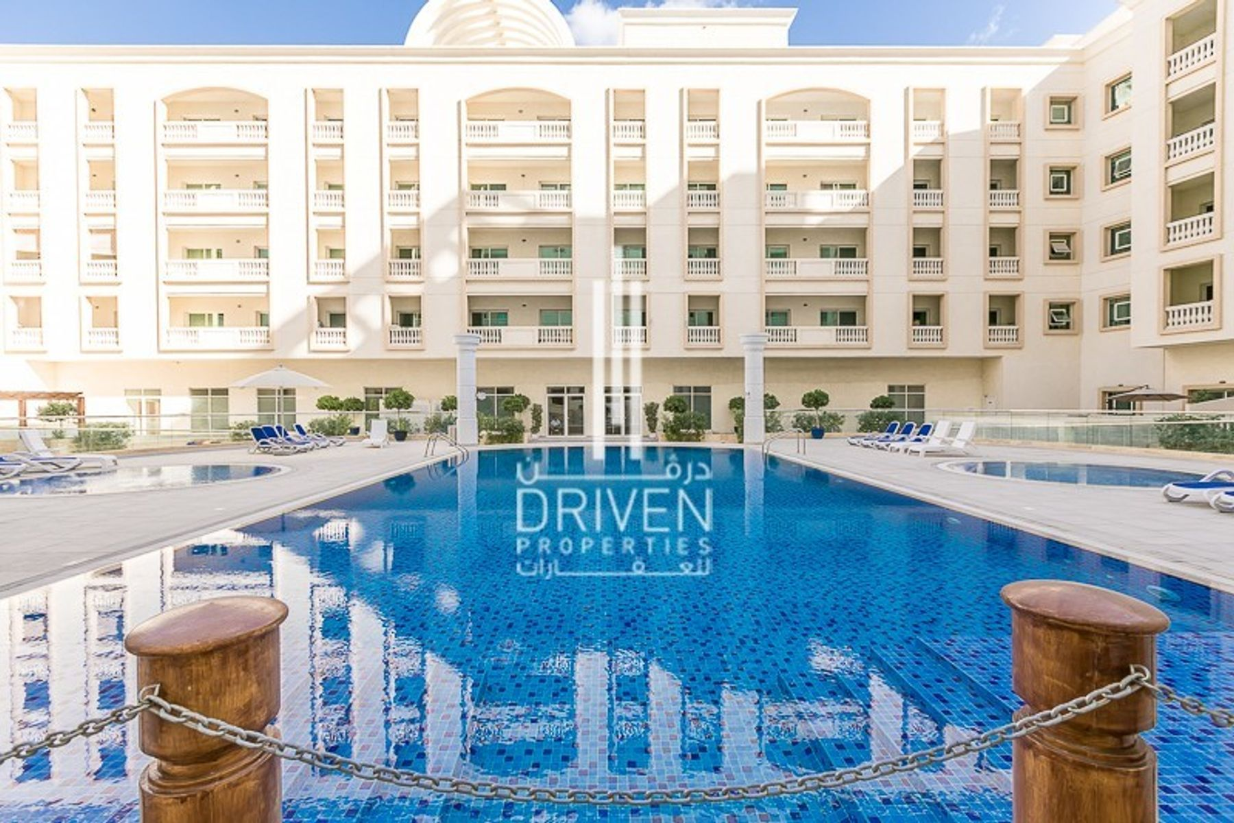 Spacious 1 Bedroom Apartment | Pool View