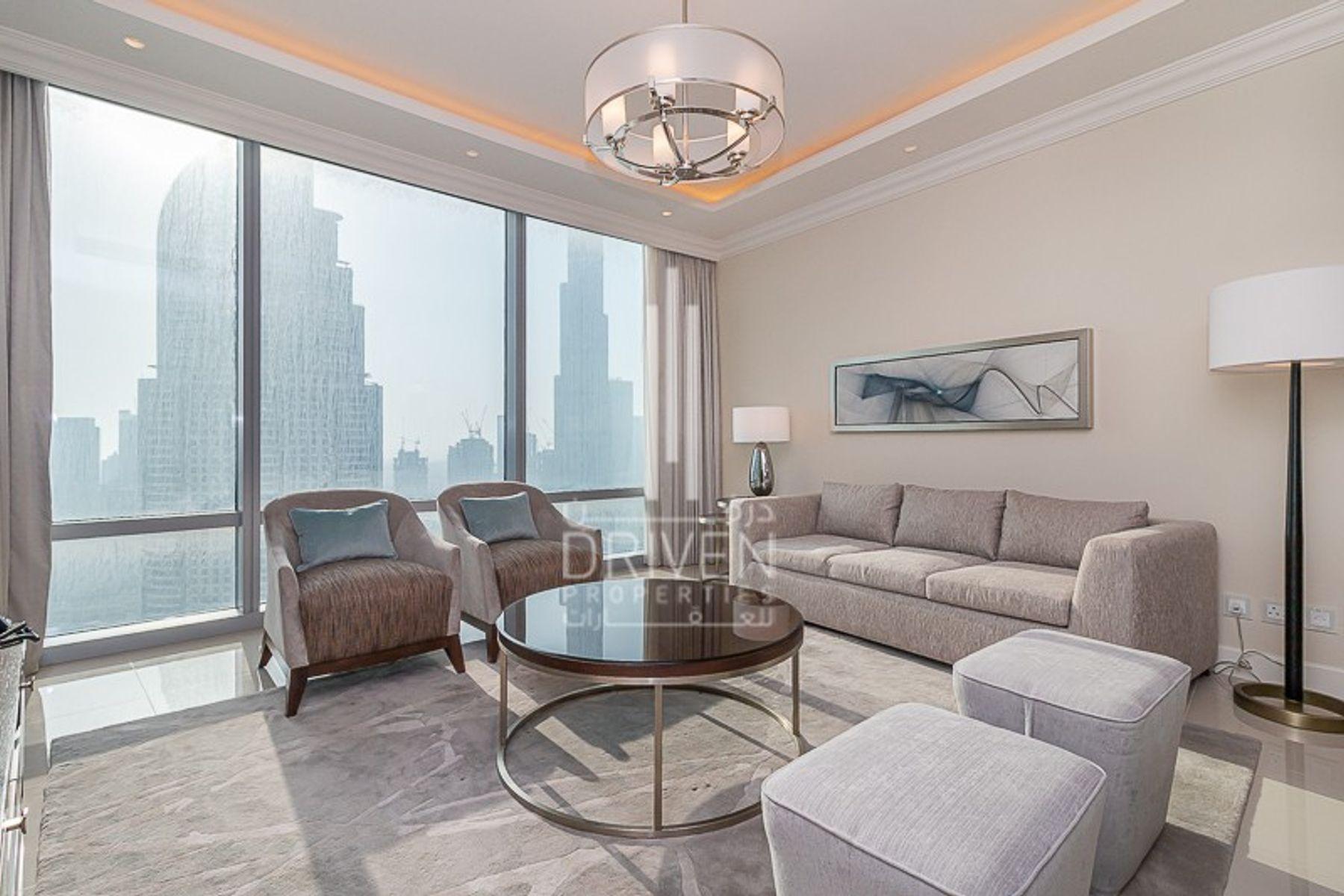 1,371 قدم مربع  شقة - للايجار - دبي وسط المدينة