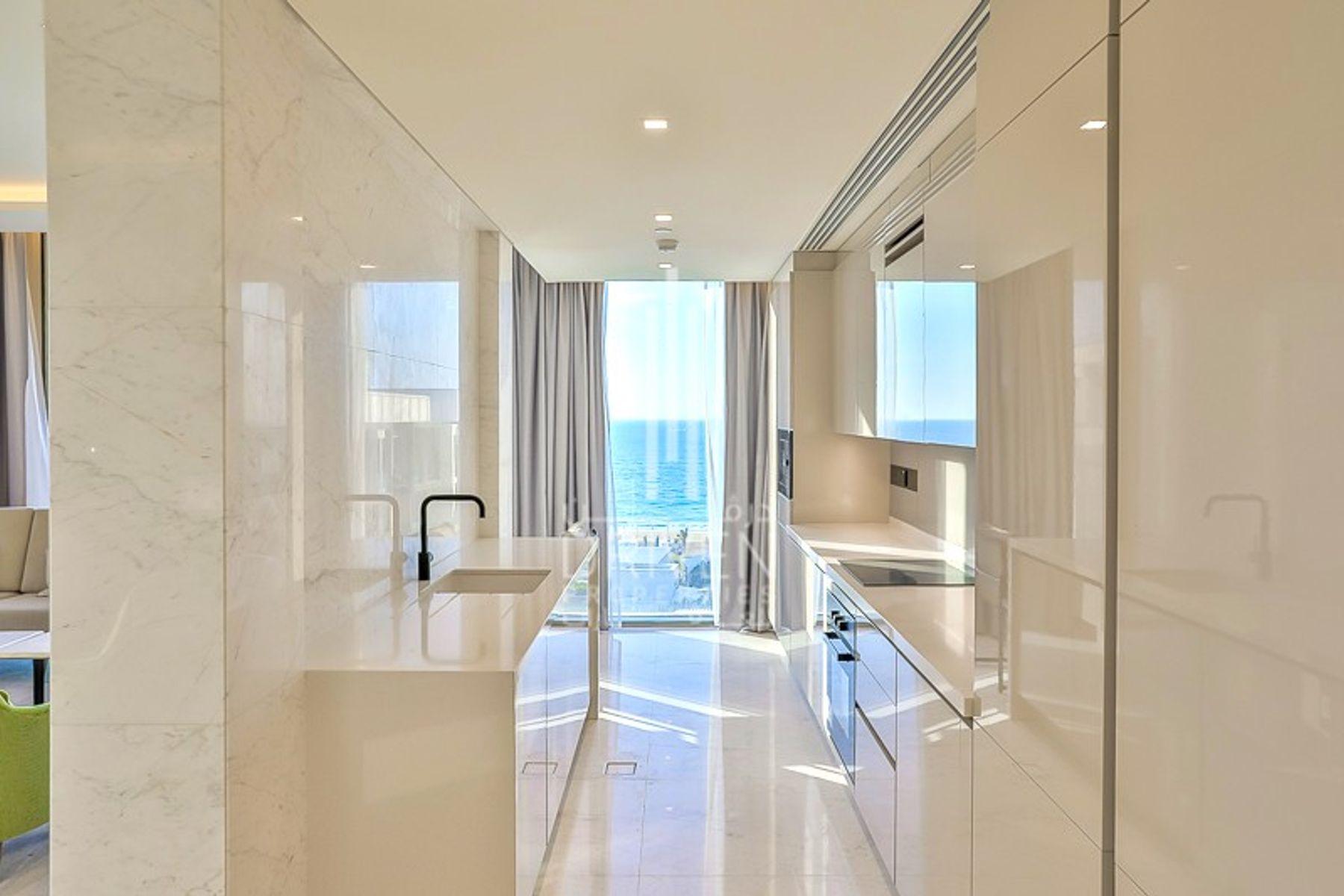 للايجار - شقة - 2 شقة بناية - بلوواترز