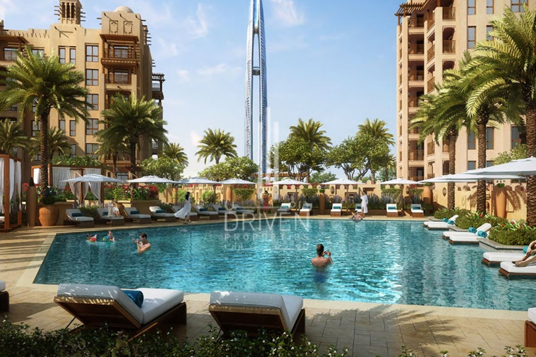 NEW ASAYEL AT MJL WITH A BURJ ARAB VIEWS
