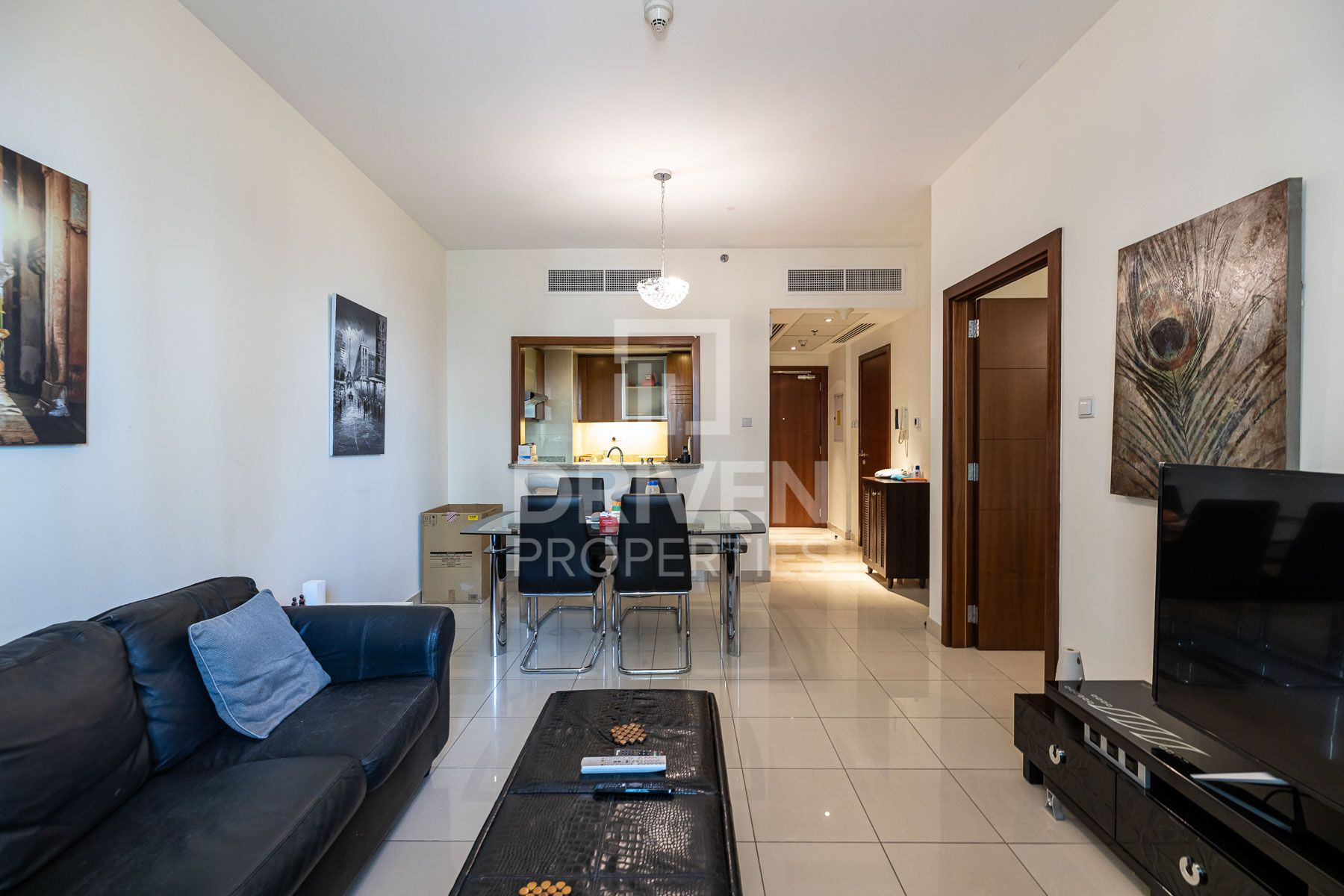Furnished 1 Bed with Burj and Pool Views