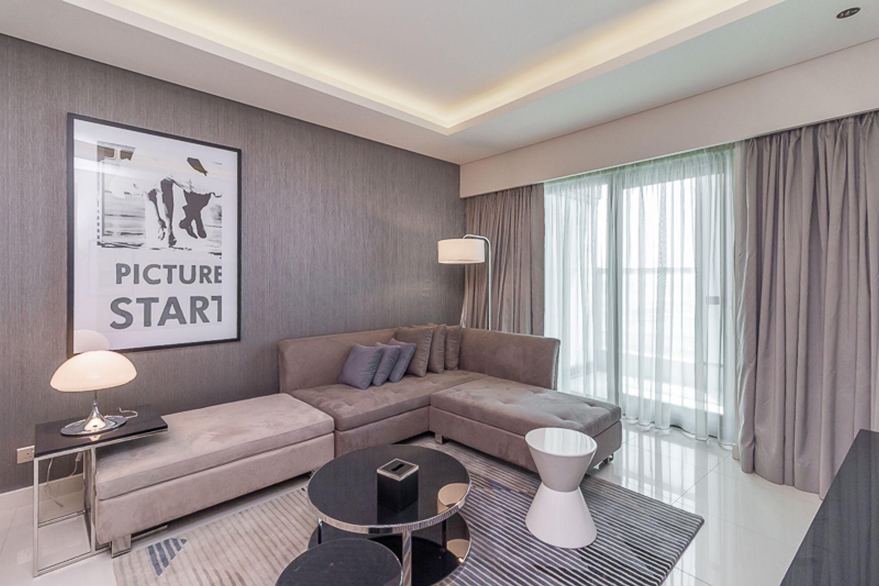 للبيع - شقة - B برج - الخليج التجاري