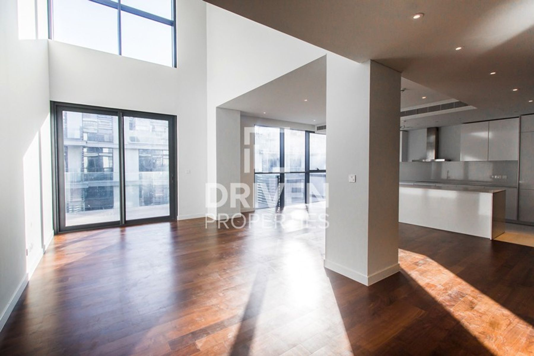 Rare Duplex Apartment with Open Pool View