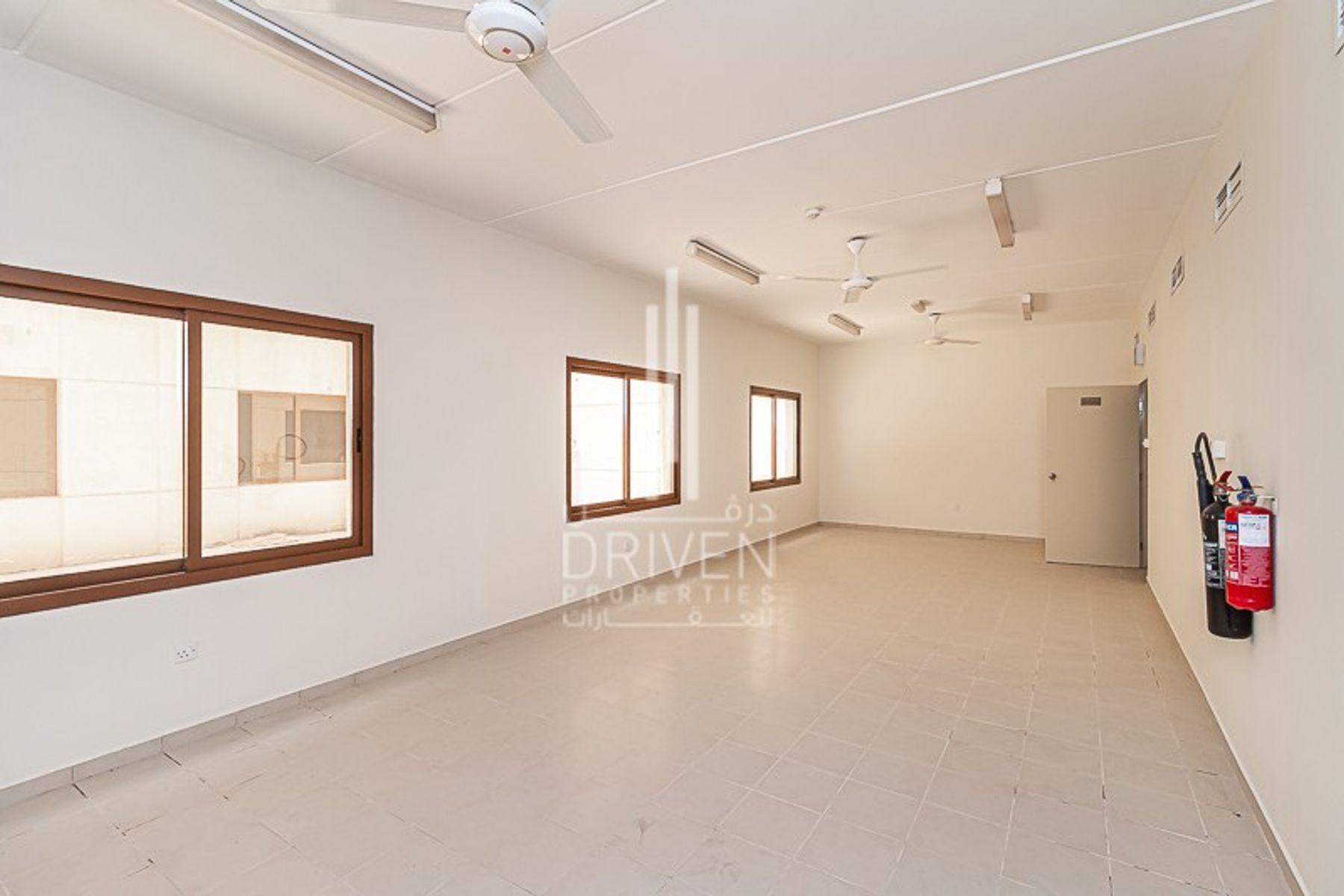 للايجار - مخيم عمال - المرحلة 2 - مجمع دبي للإستثمار