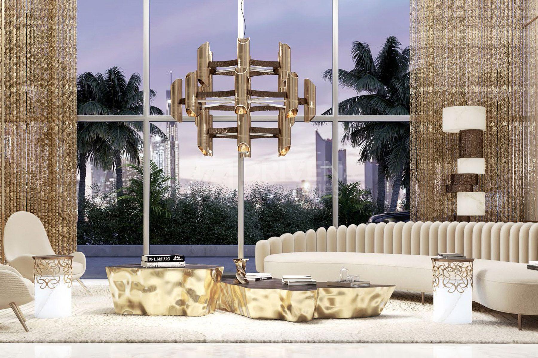 للبيع - شقة - جراند بلو تاور - دبي هاربور
