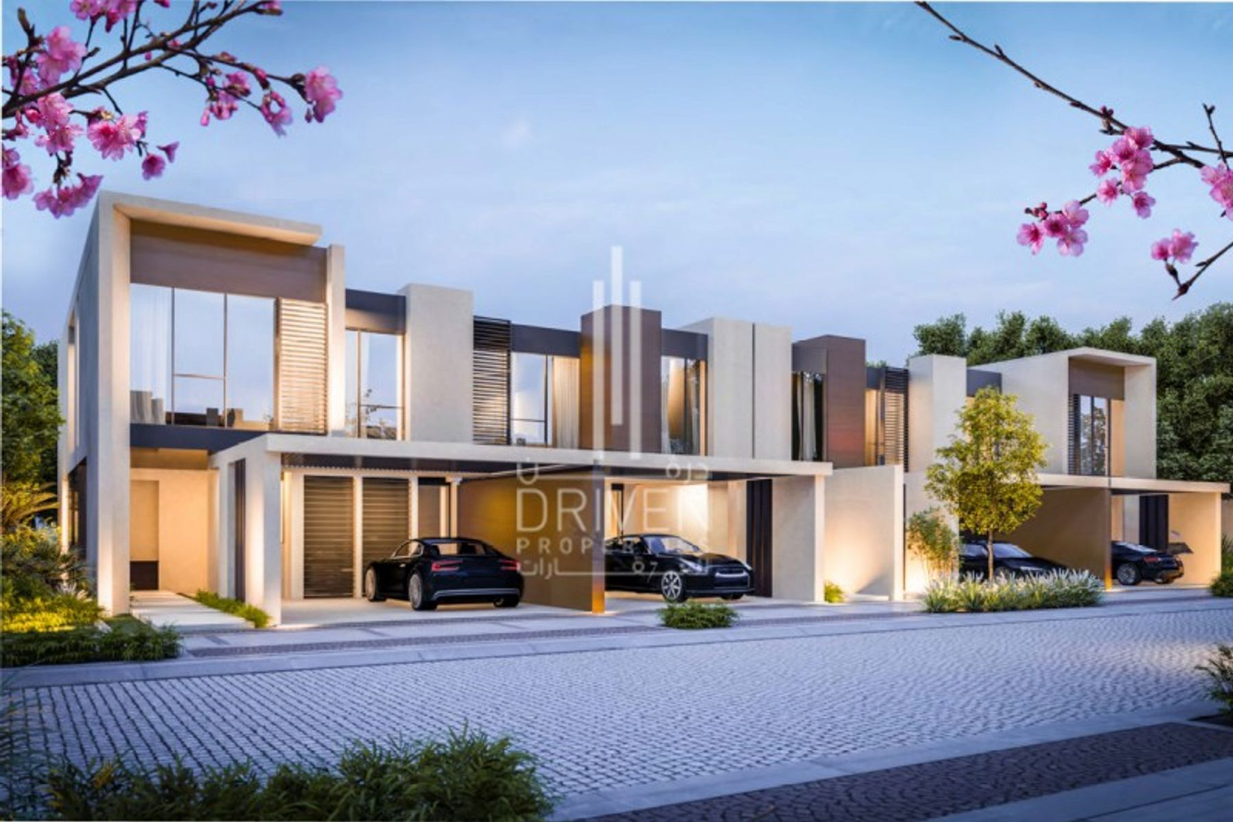 Townhouse for Sale in Cherrywoods - Dubai Land
